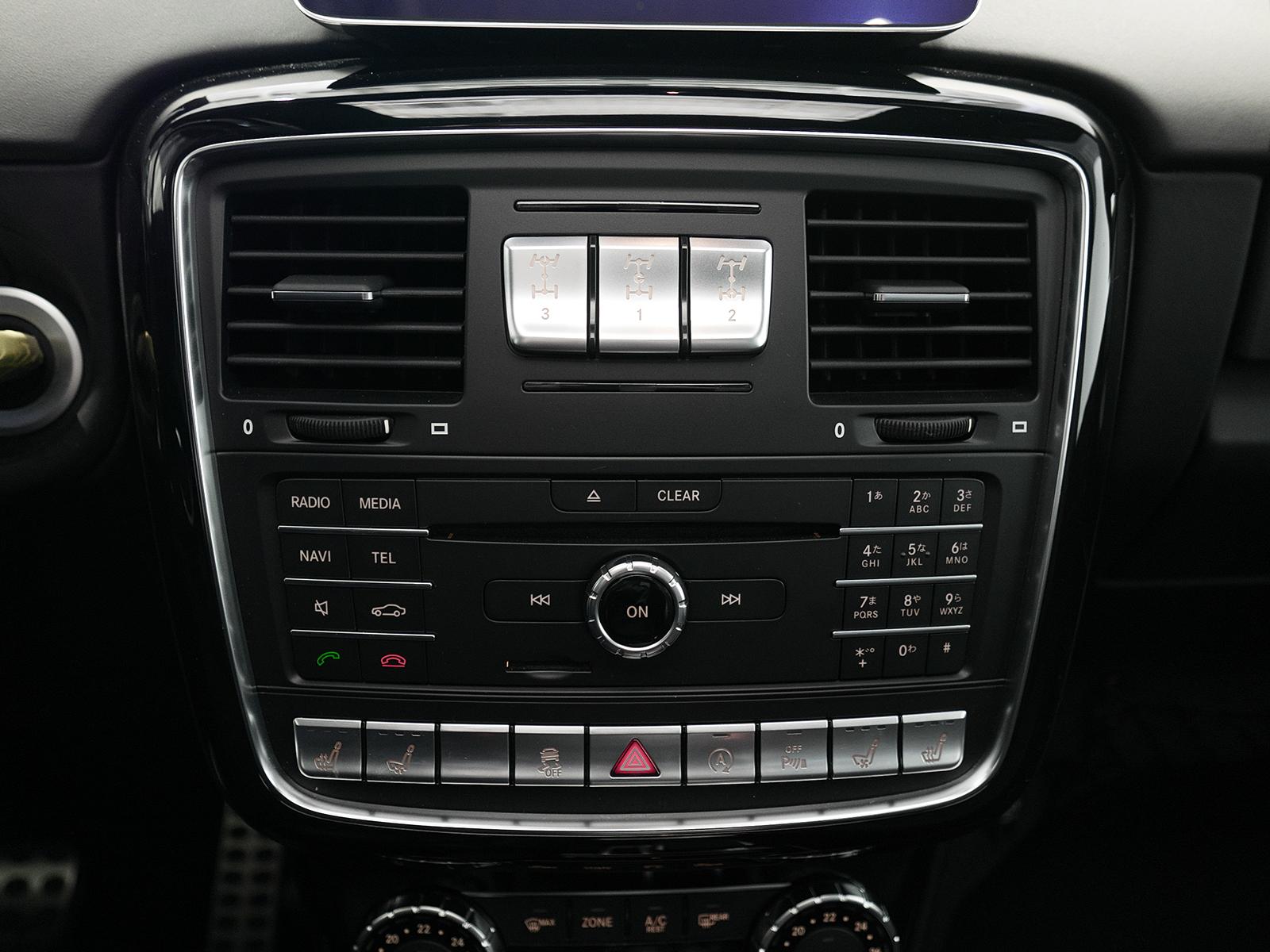 メルセデスAMG G63 ロング オーディオ
