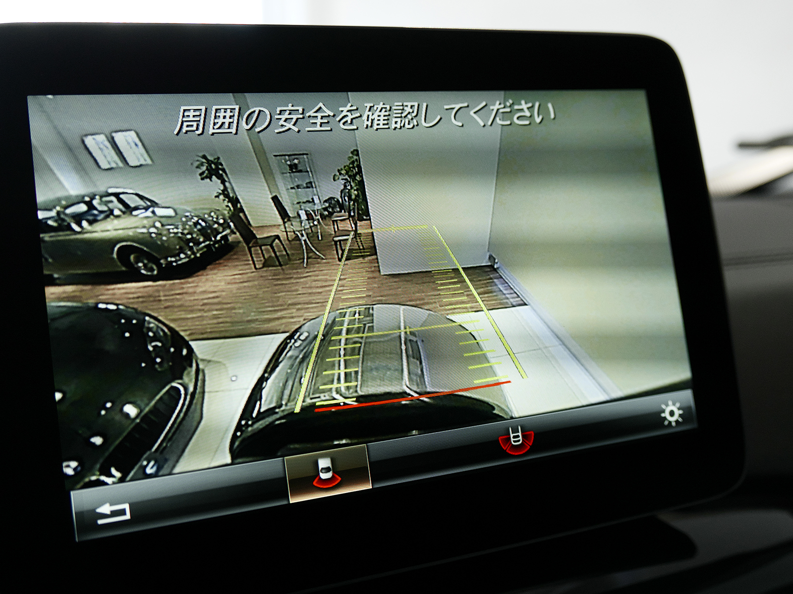 メルセデスAMG G63 ロング リアビューカメラ