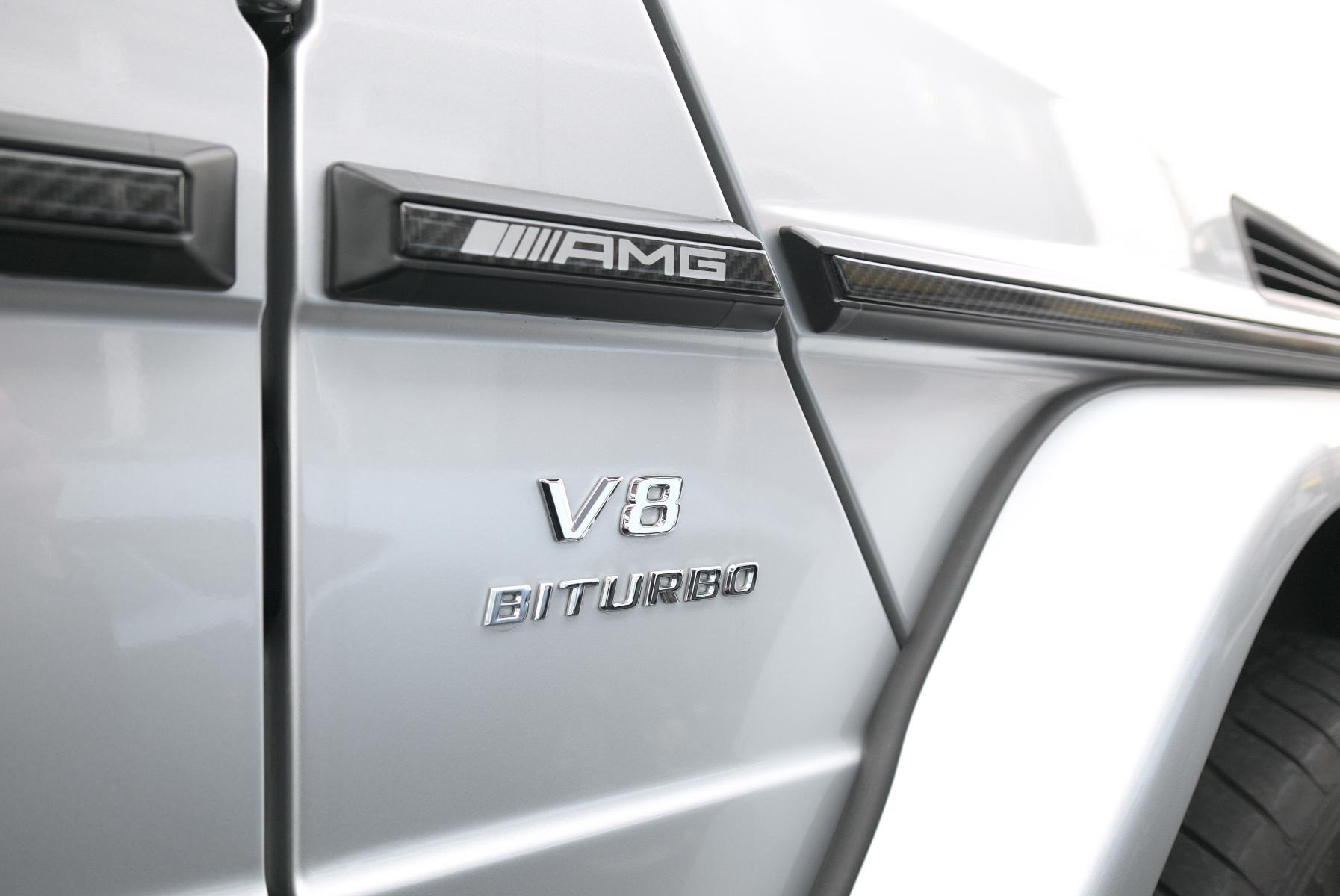 メルセデスAMG G63 ロング サイドバッジ