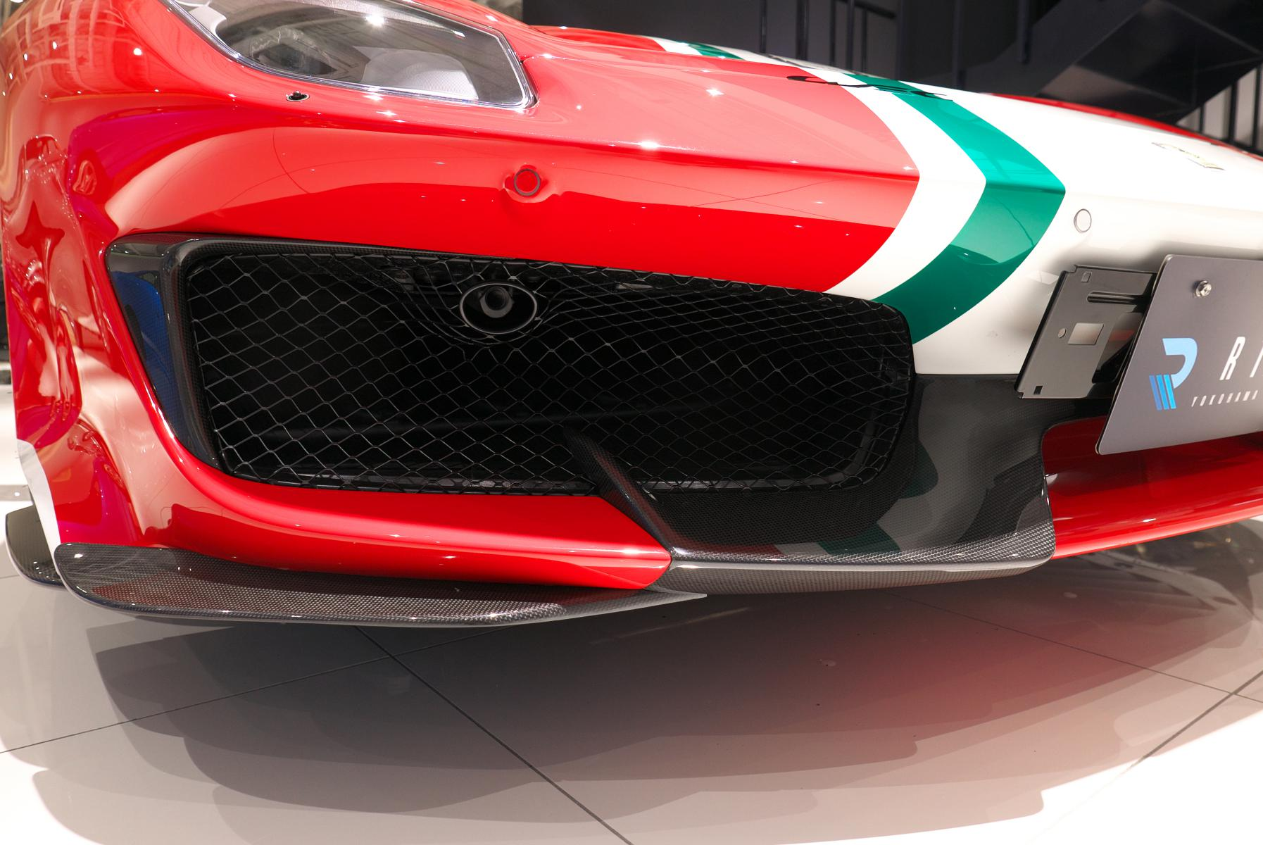 488 ピスタ ピロティ  カーボンフロントフラップ