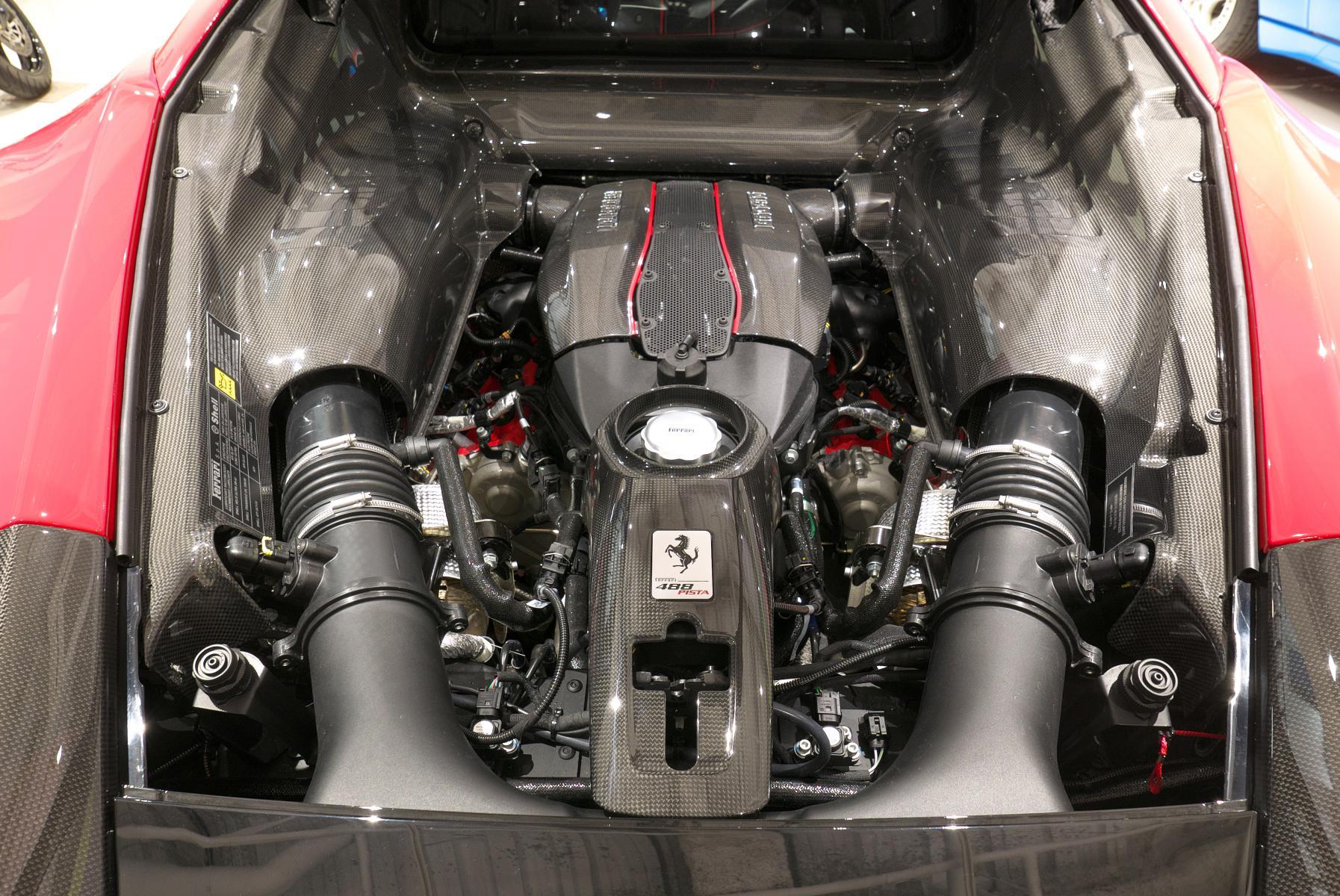 488 ピスタ ピロティ エンジン