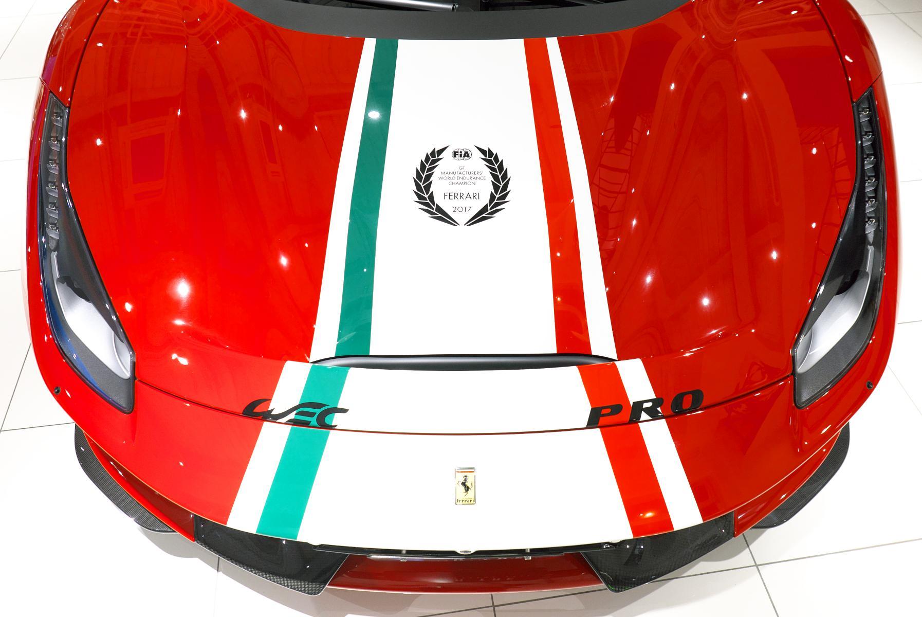 488 ピスタ ピロティ ボンネットストライプ