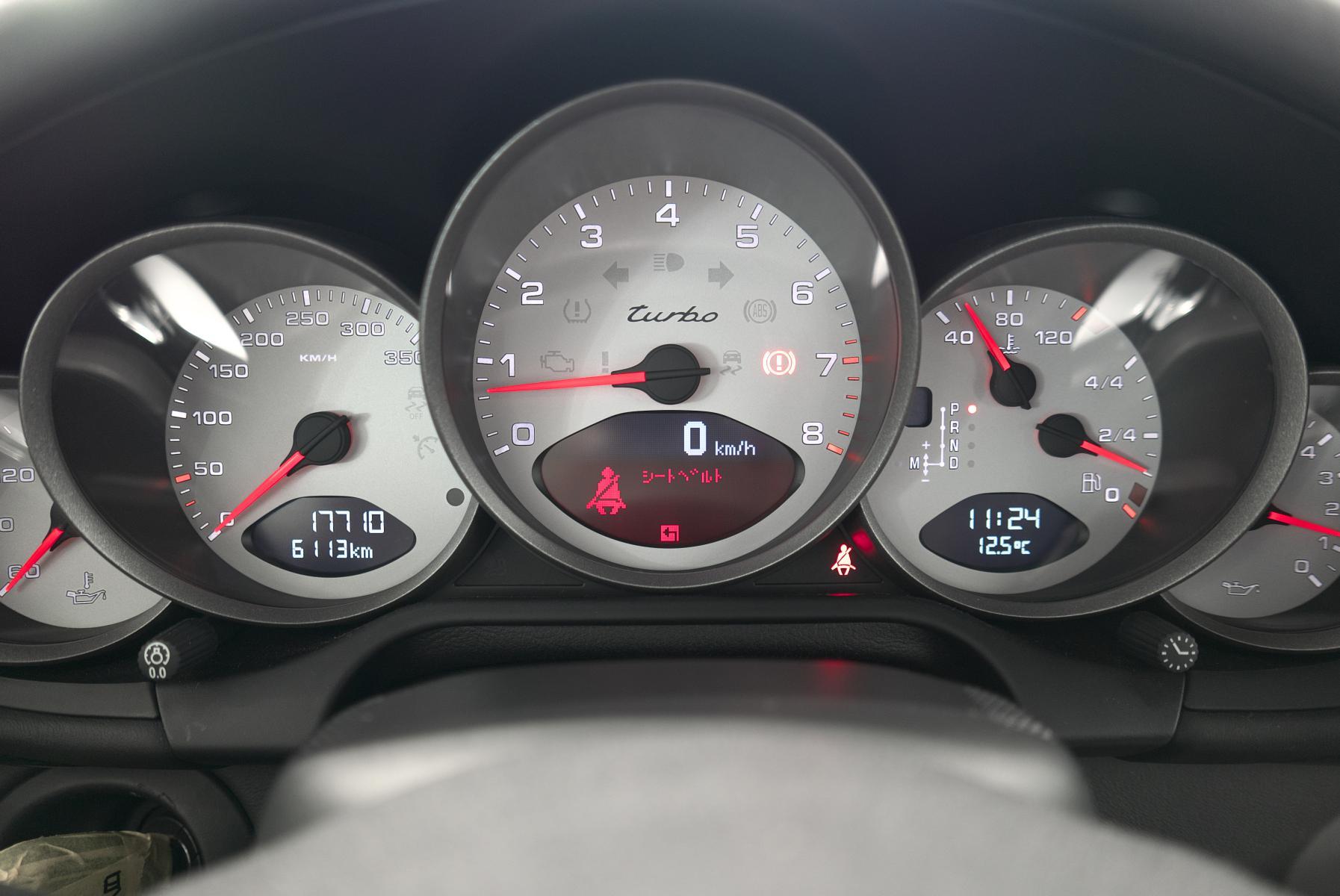 ポルシェ 911 997 メーターパネル