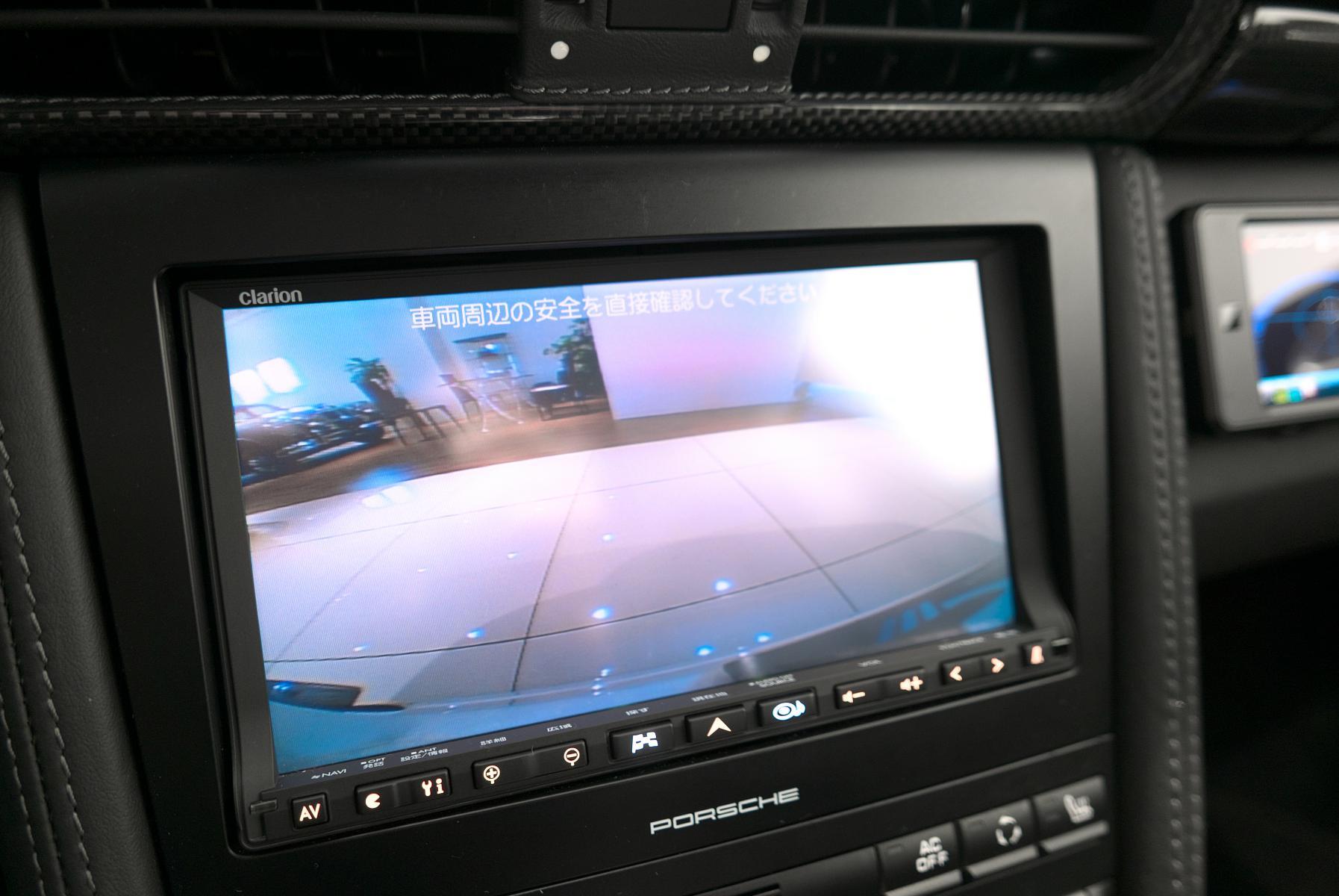 ポルシェ 911 997 バックカメラ