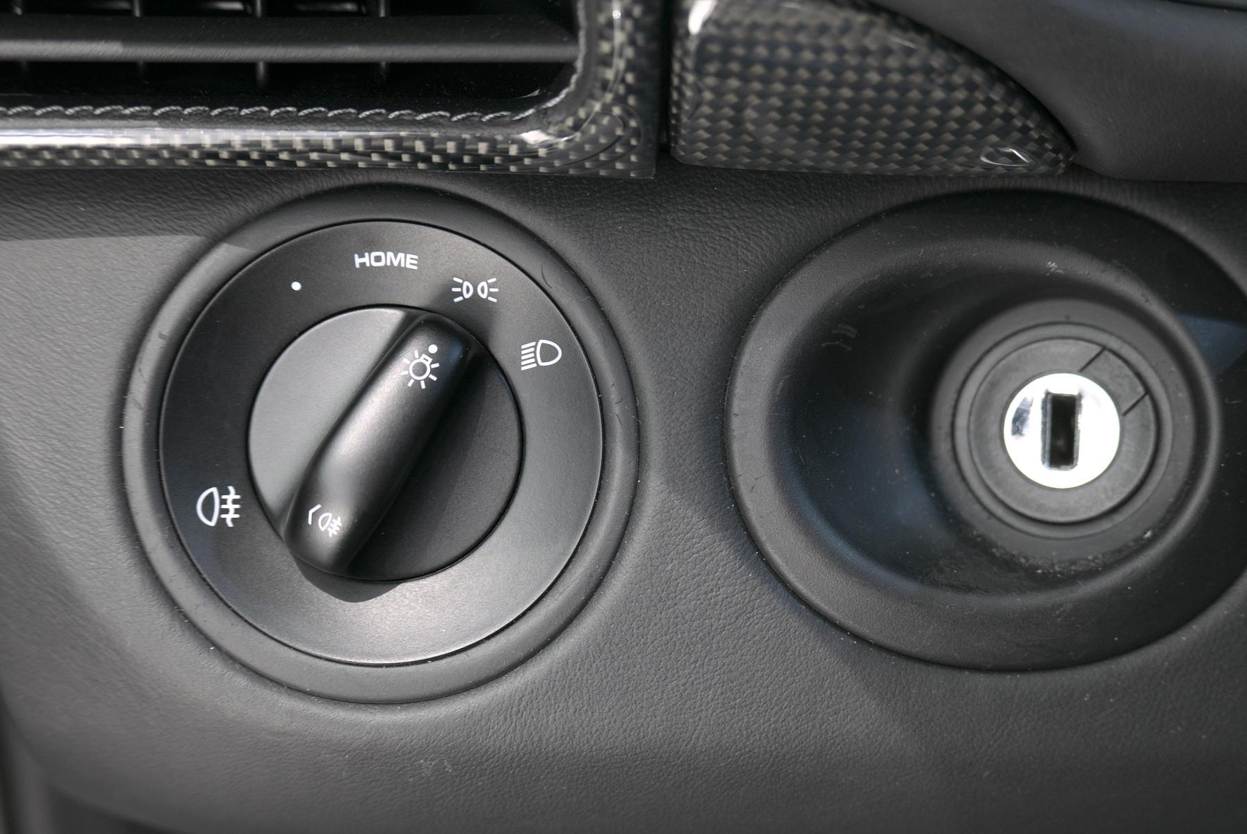 ポルシェ 911 997 ヘッドライトスイッチ類