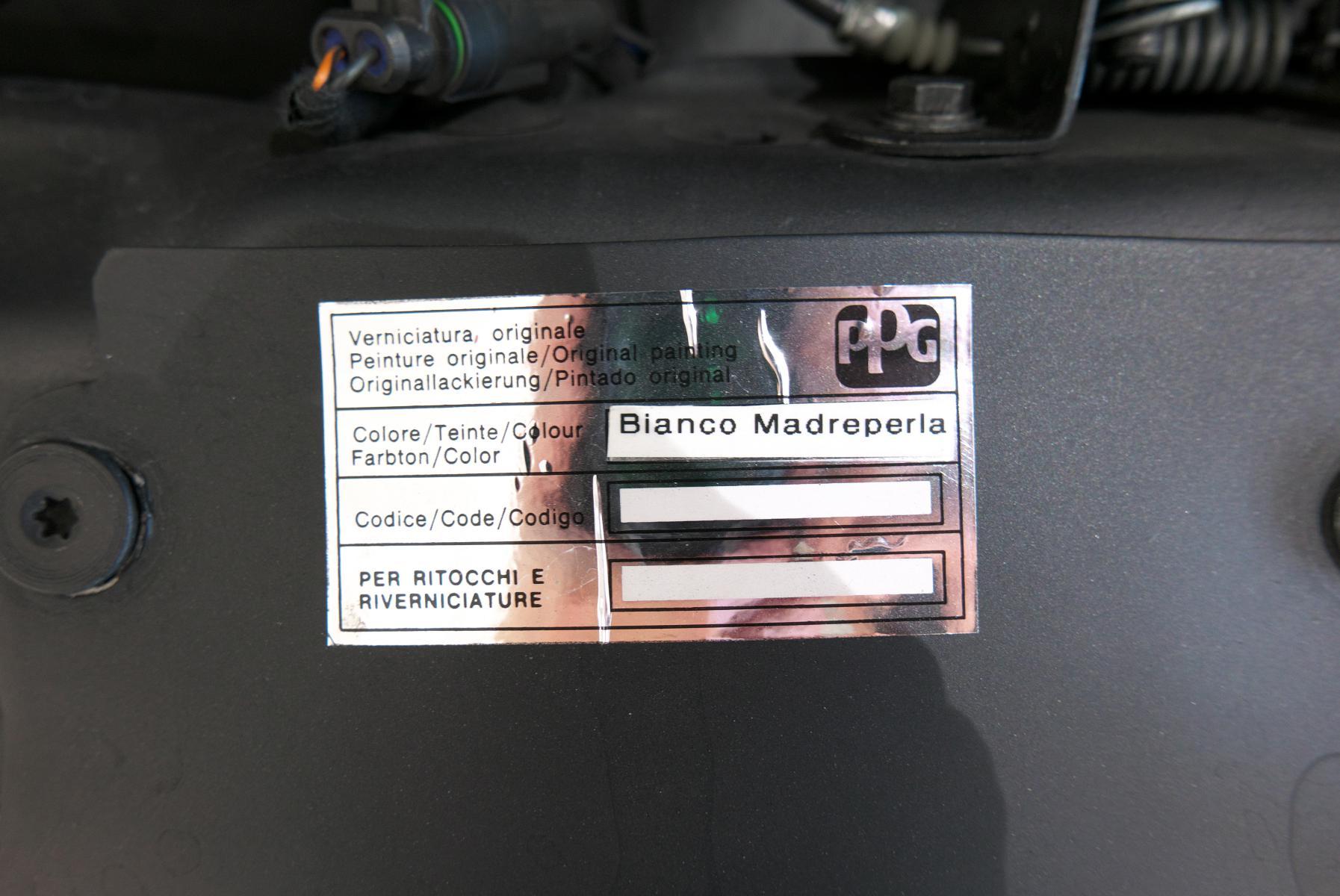 アルファロメオ 8C スパイダー  カラーコード