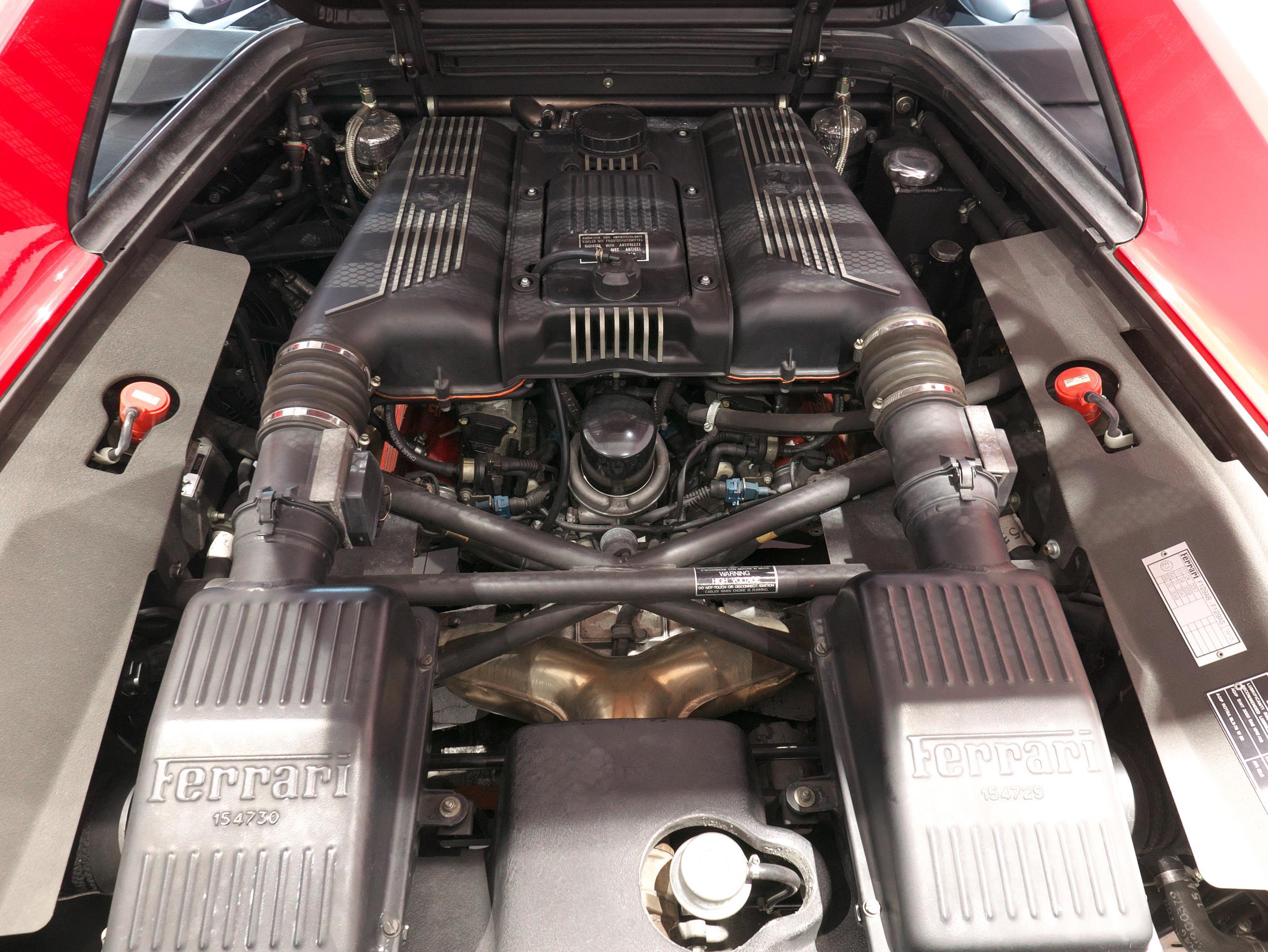 フェラーリ F355 ベルリネッタ エンジン