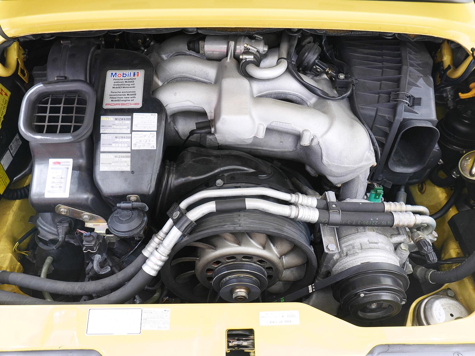 ポルシェ 911 タイプ993 カレラ タイプ Ⅰ エンジン