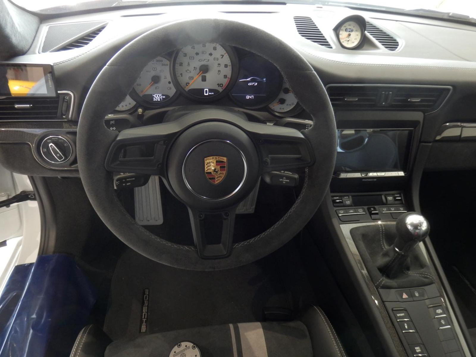 ポルシェ 911 GT3 タイプ991-Ⅱ ステアリング