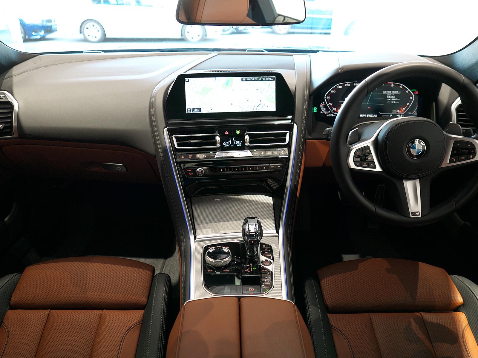 BMW M850i xDrive クーペ 内装