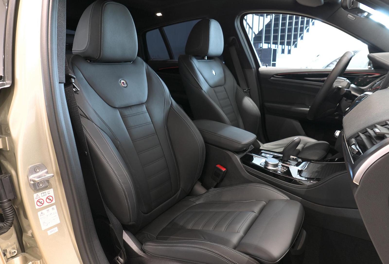BMW アルピナ XD4 Allrad 助手席シート