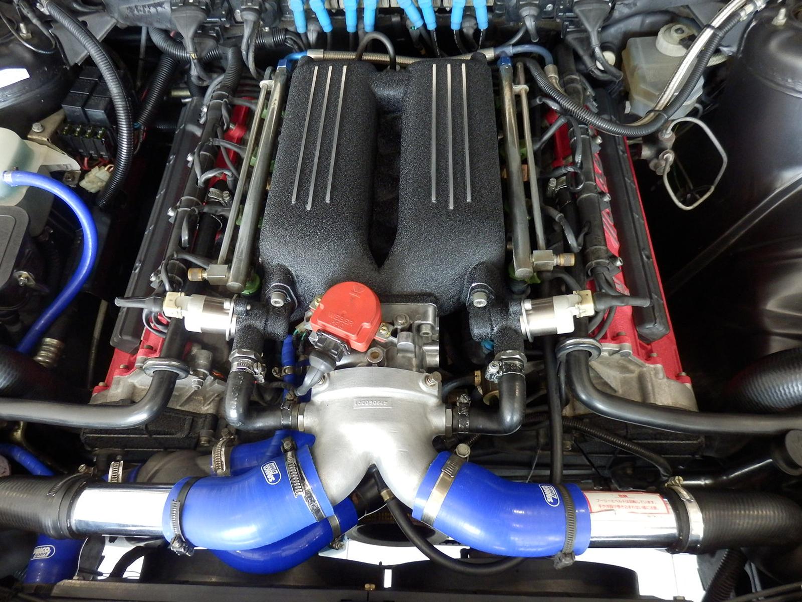 マセラティ シャマル エンジン
