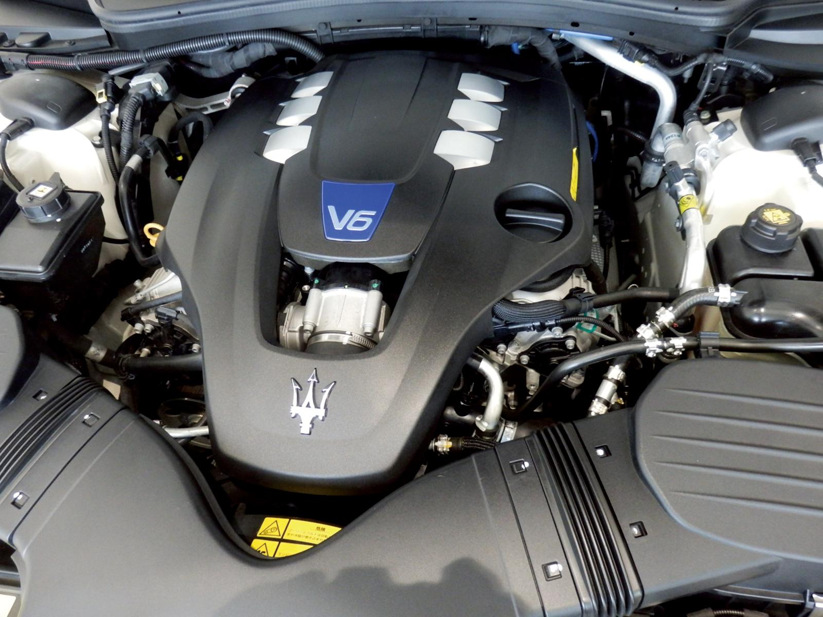 ギブリ S ビアンコ エンジン