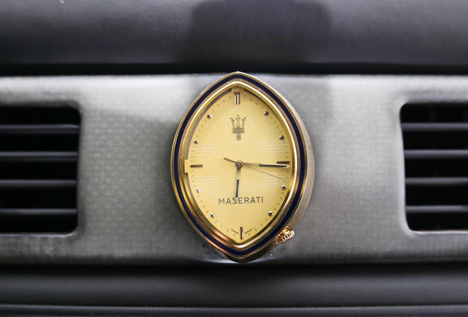 マセラティ ギブリカップ 時計