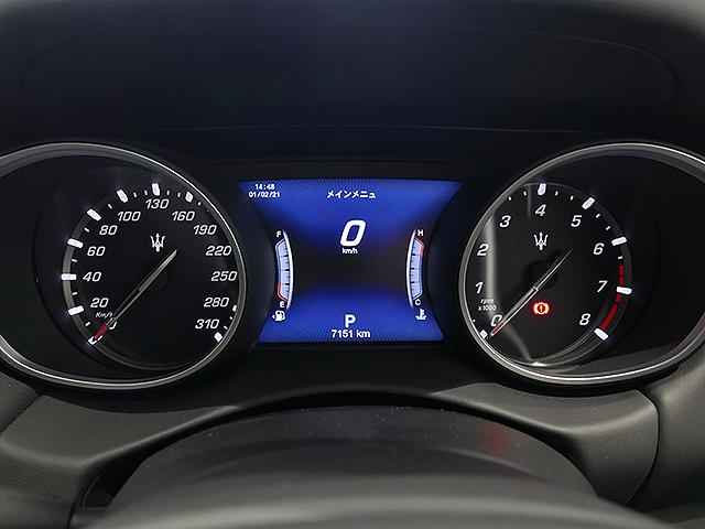 レヴァンテ S グランスポーツ ゼニア ペッレテスータ メーターパネル