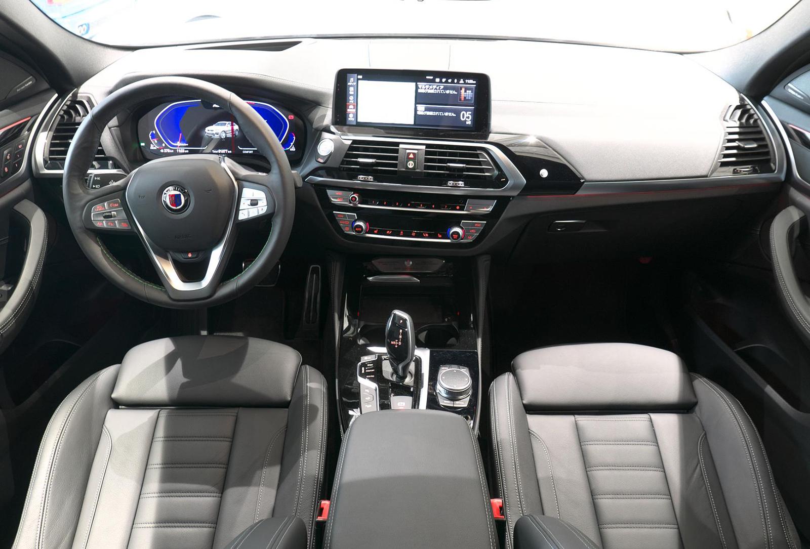 BMW アルピナ XD4 Allrad 内装