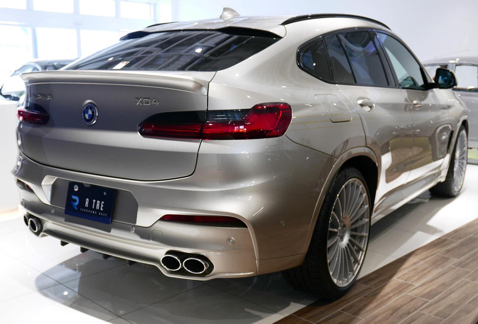 BMW アルピナ XD4 Allrad 右リア