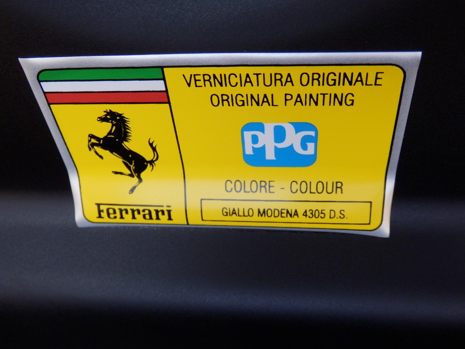 360 モデナ カラーネームステッカー