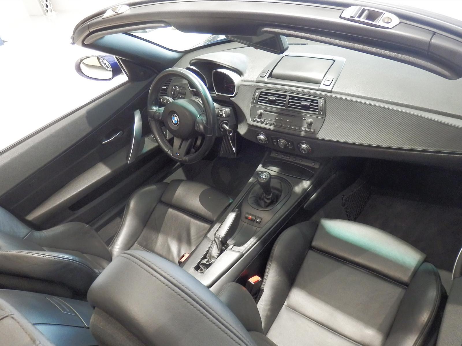 BMW Z4 M ロードスター 内装