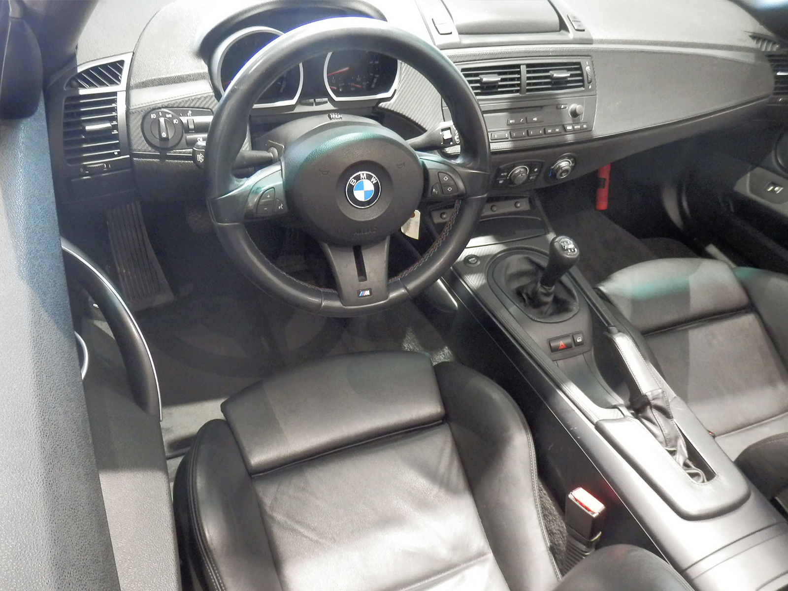 BMW Z4 M ロードスター 運転席