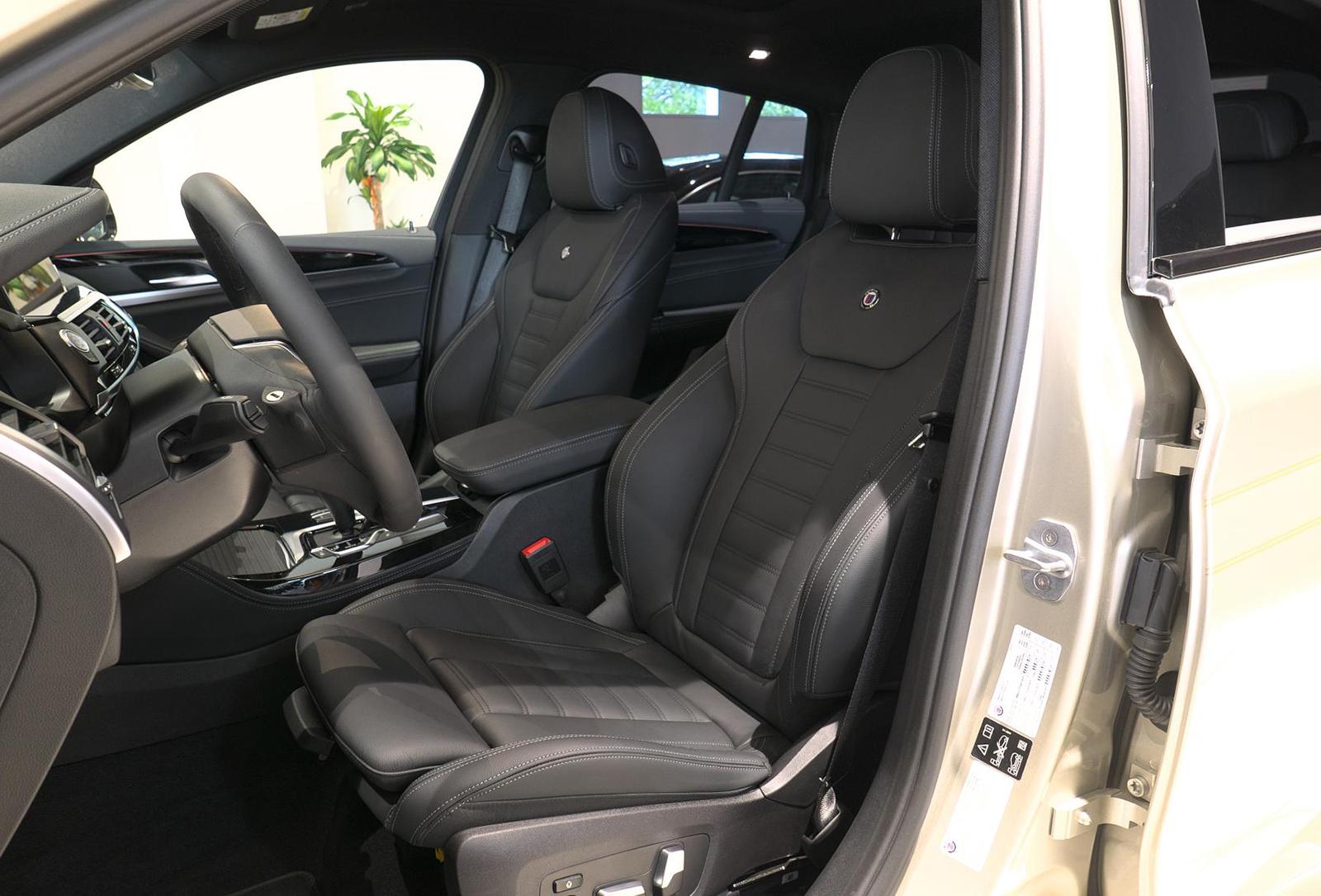 BMW アルピナ XD4 Allrad 運転席シート
