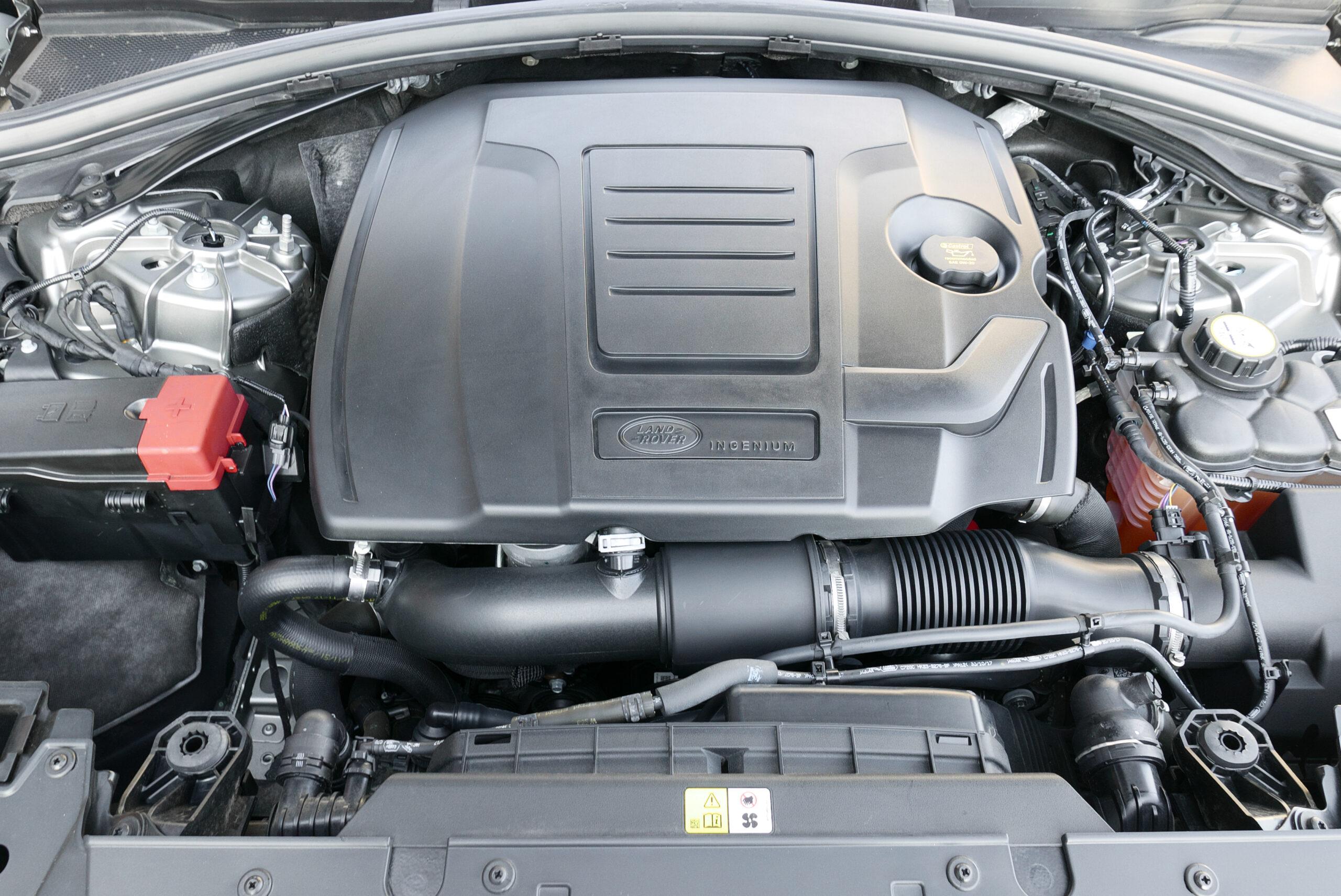 ヴェラール Rダイナミック S P300 シリコンシルバー エンジン