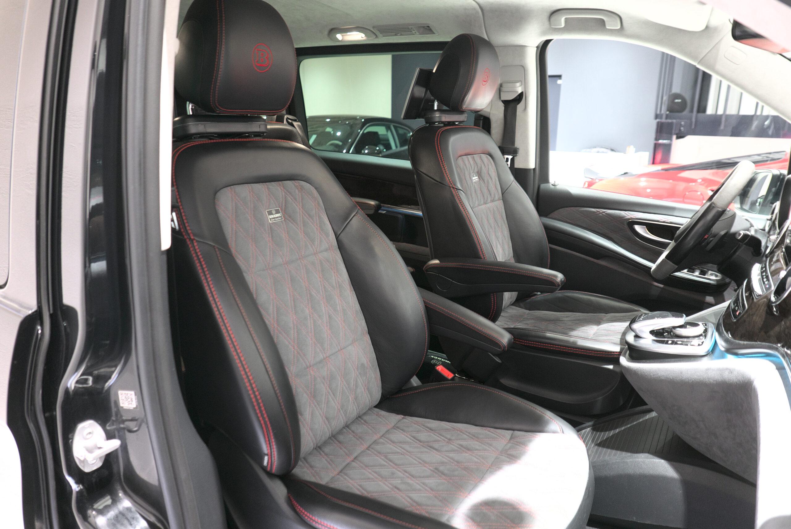 ブラバス V-D4 助手席シート