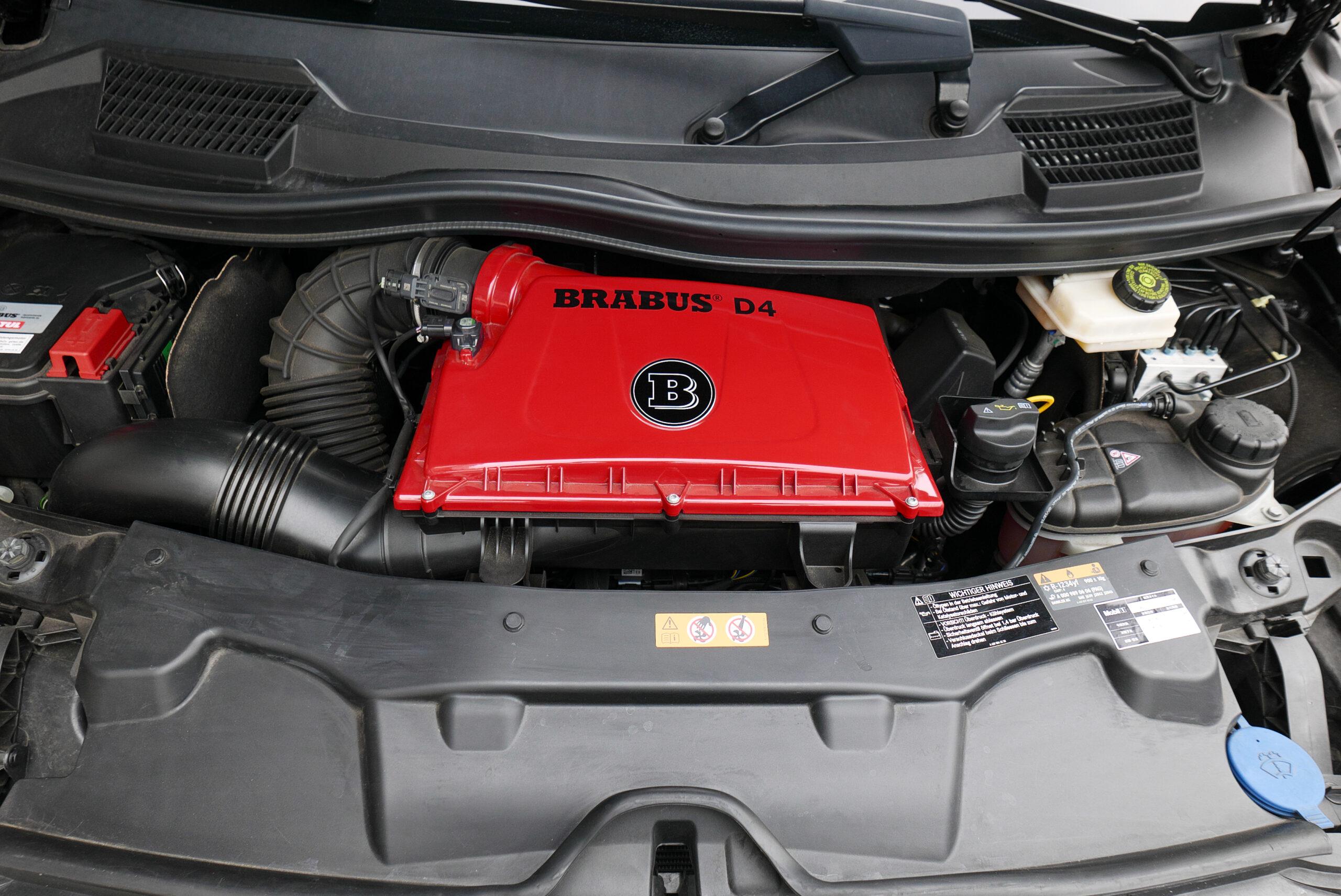 ブラバス V-D4 エンジンルーム
