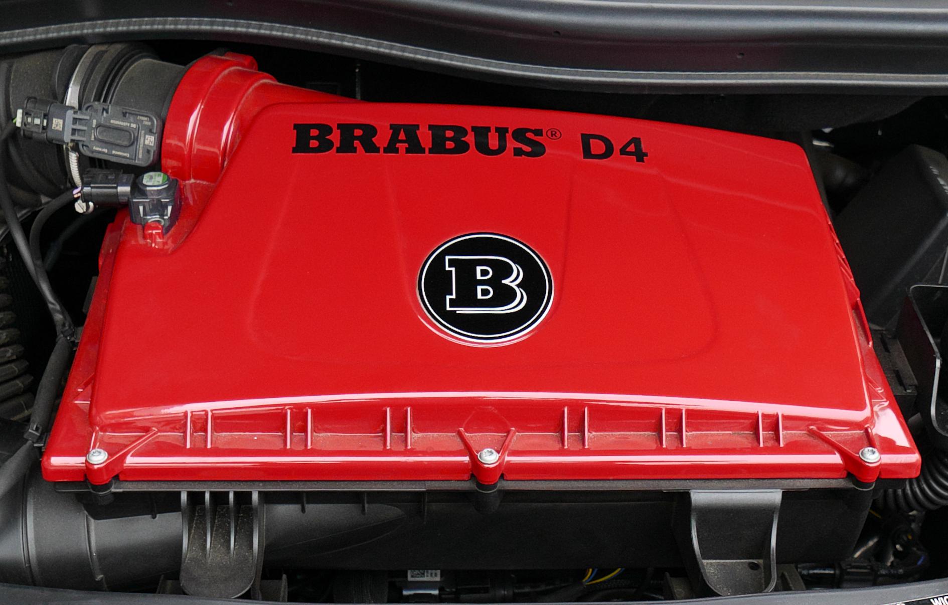 ブラバス V-D4 エンジンカバー