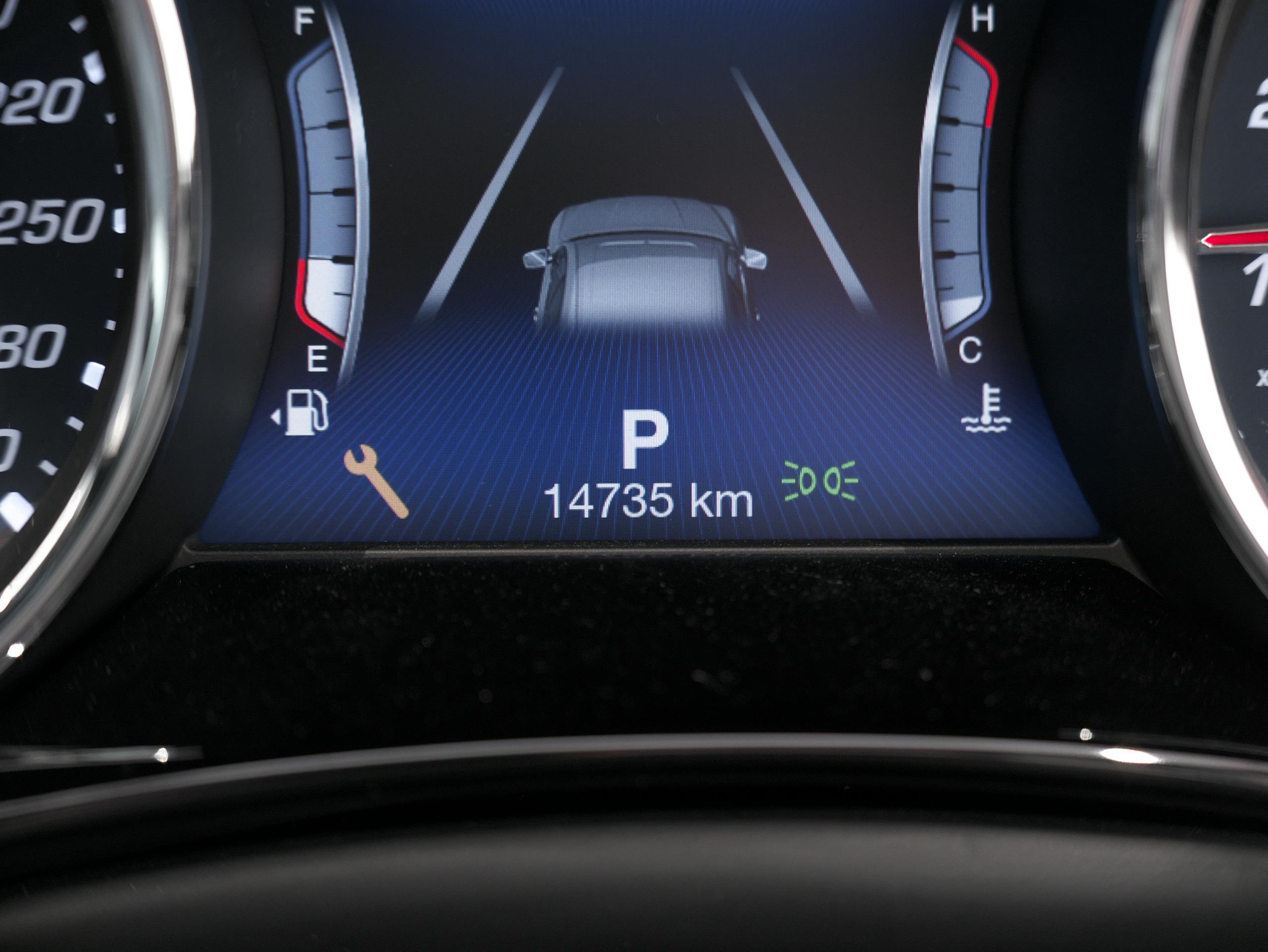 マセラティ クアトロポルテ S グランスポーツ ODOメーター