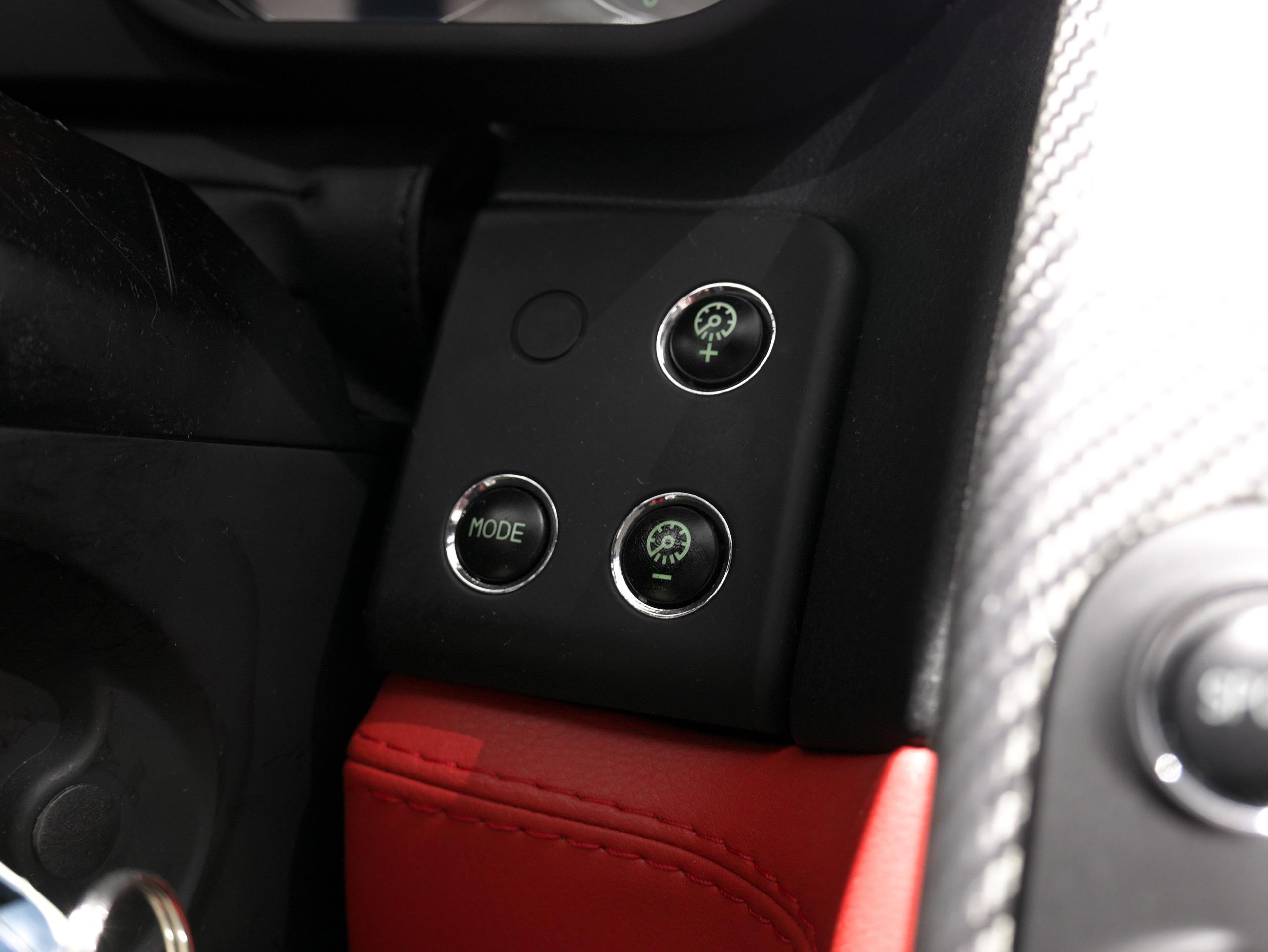 マセラティ クアトロポルテ スポーツGT S モードスイッチ