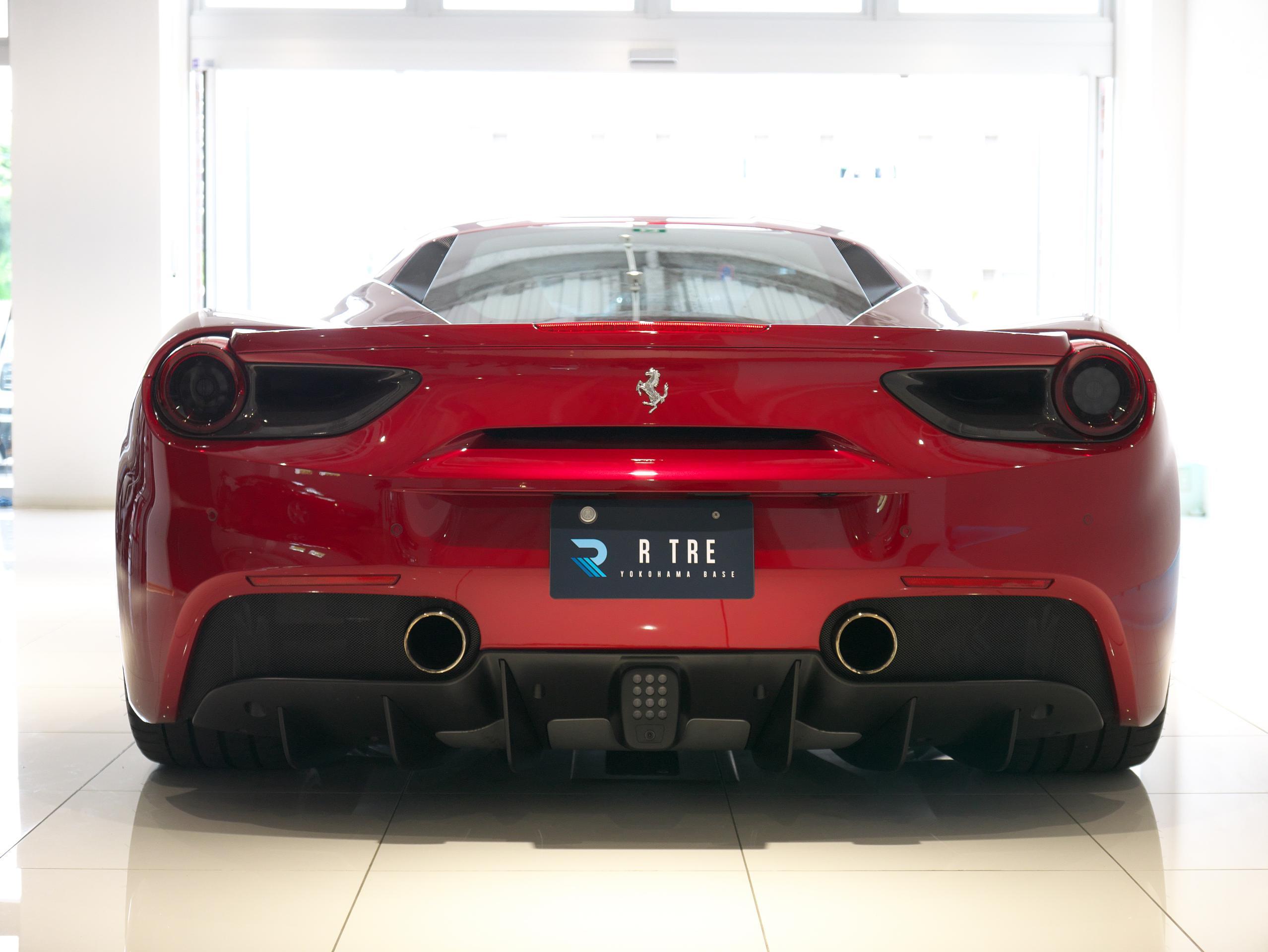 フェラーリ 488GTB リア
