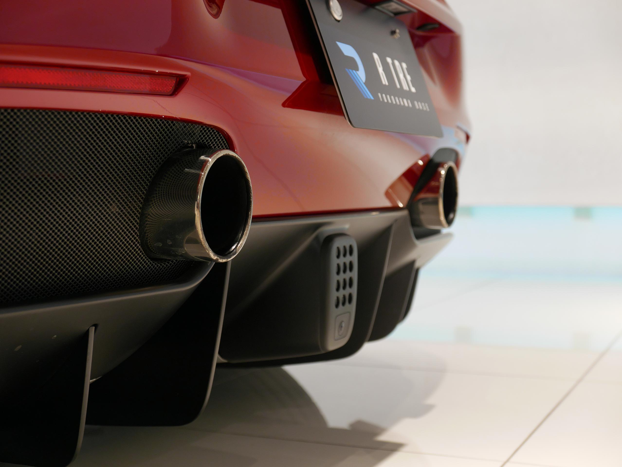 フェラーリ 488GTB エキゾースト