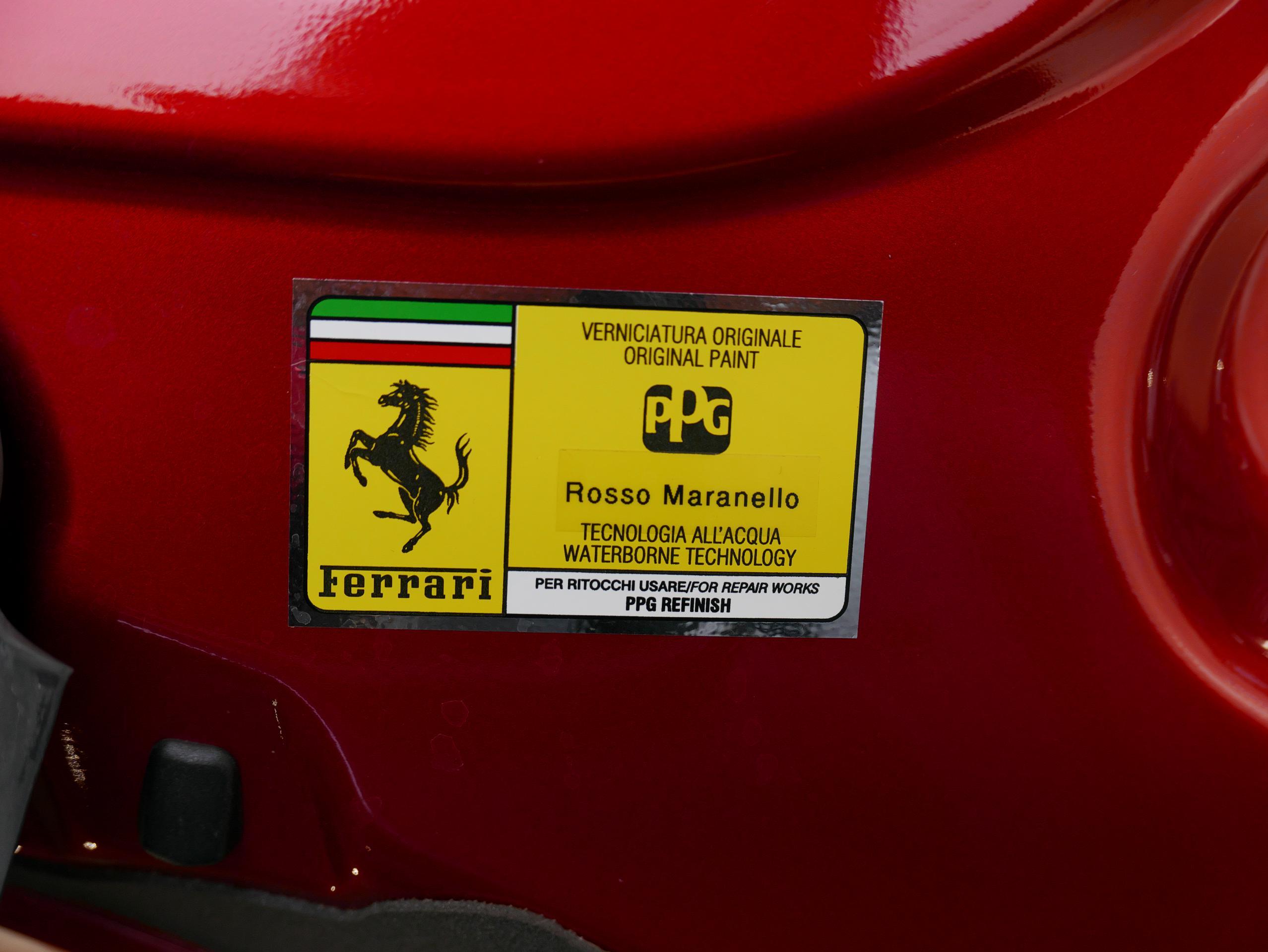 フェラーリ 488GTB カラーネームステッカー