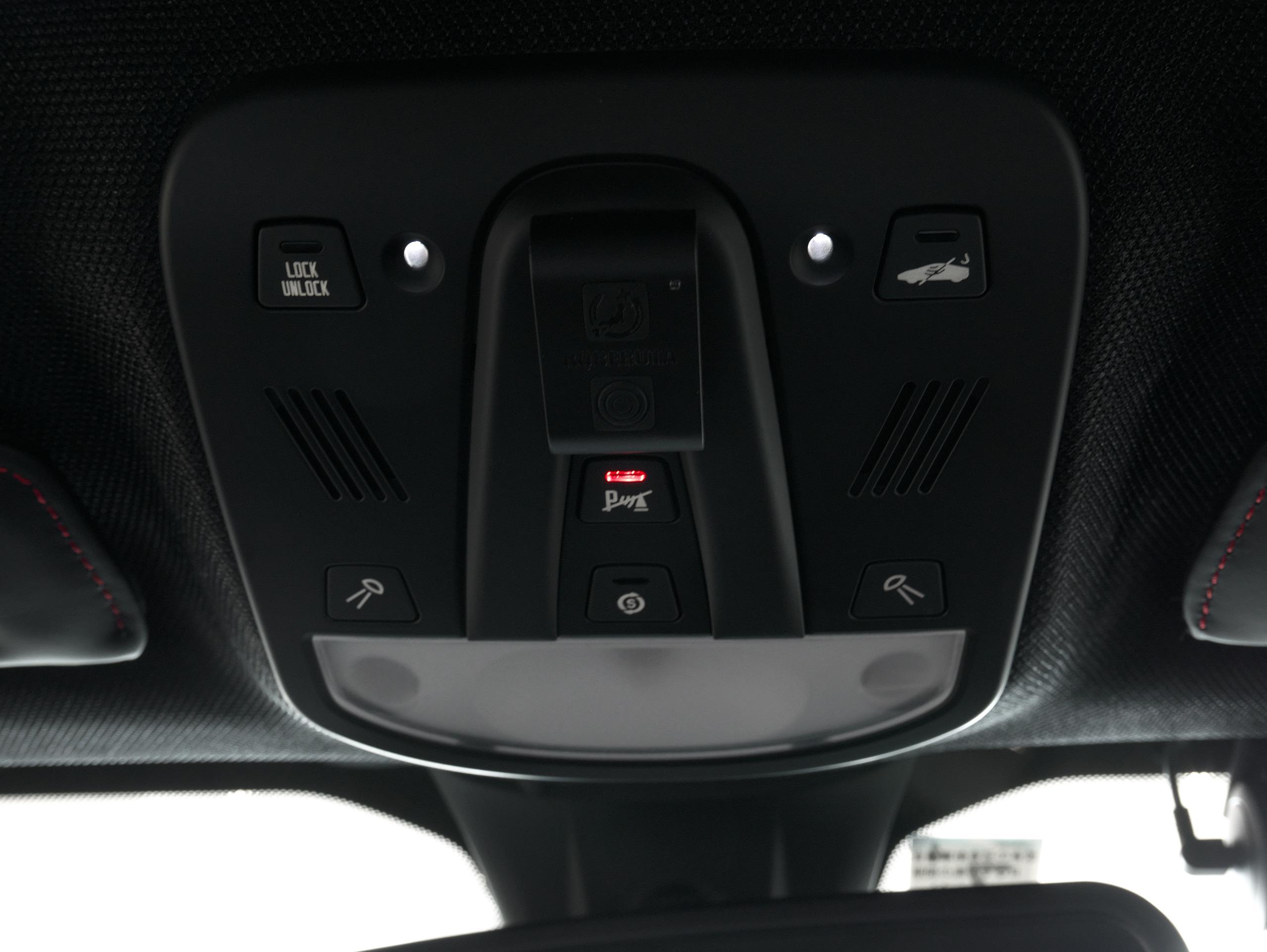 フェラーリ 488GTB オーバーヘッドコンソール