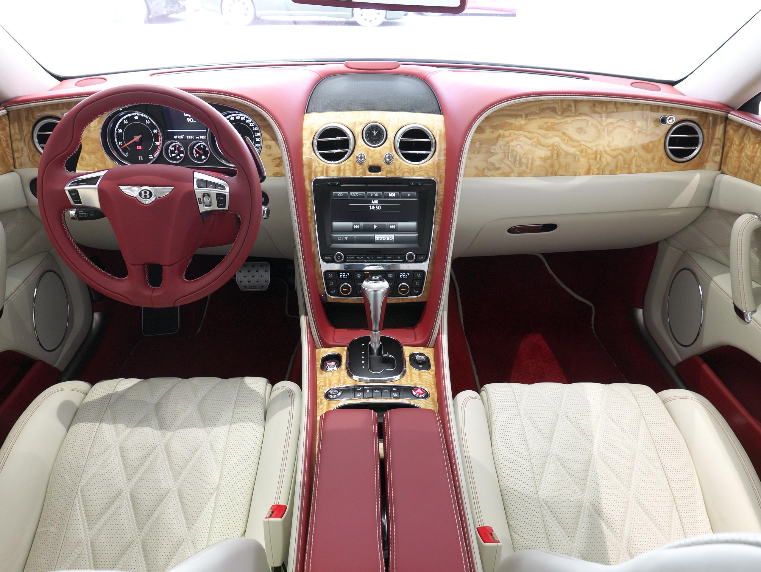 ベントレー フライングスパー W12 インテリア