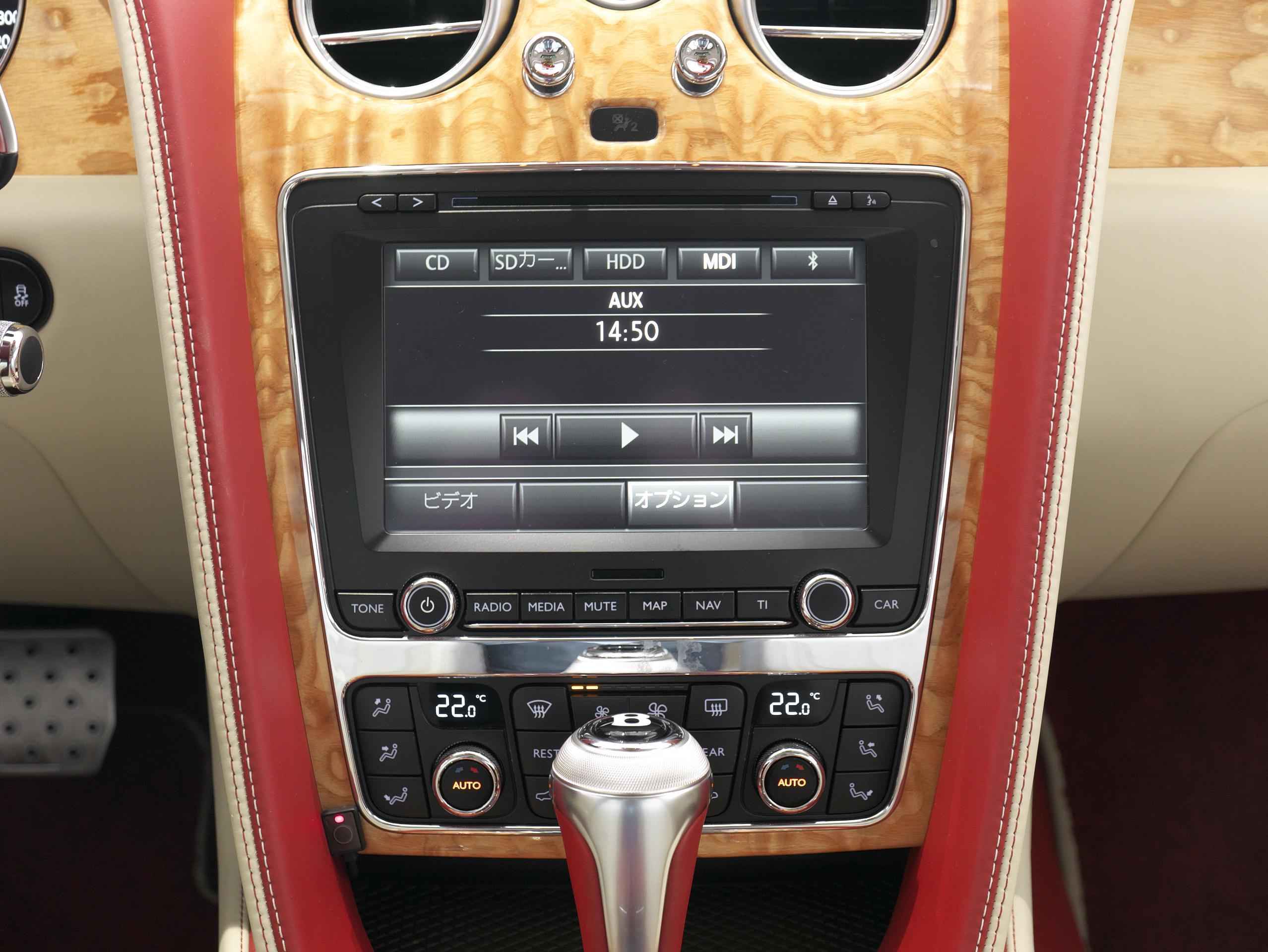 ベントレー フライングスパー W12 インフォテインメントシステム