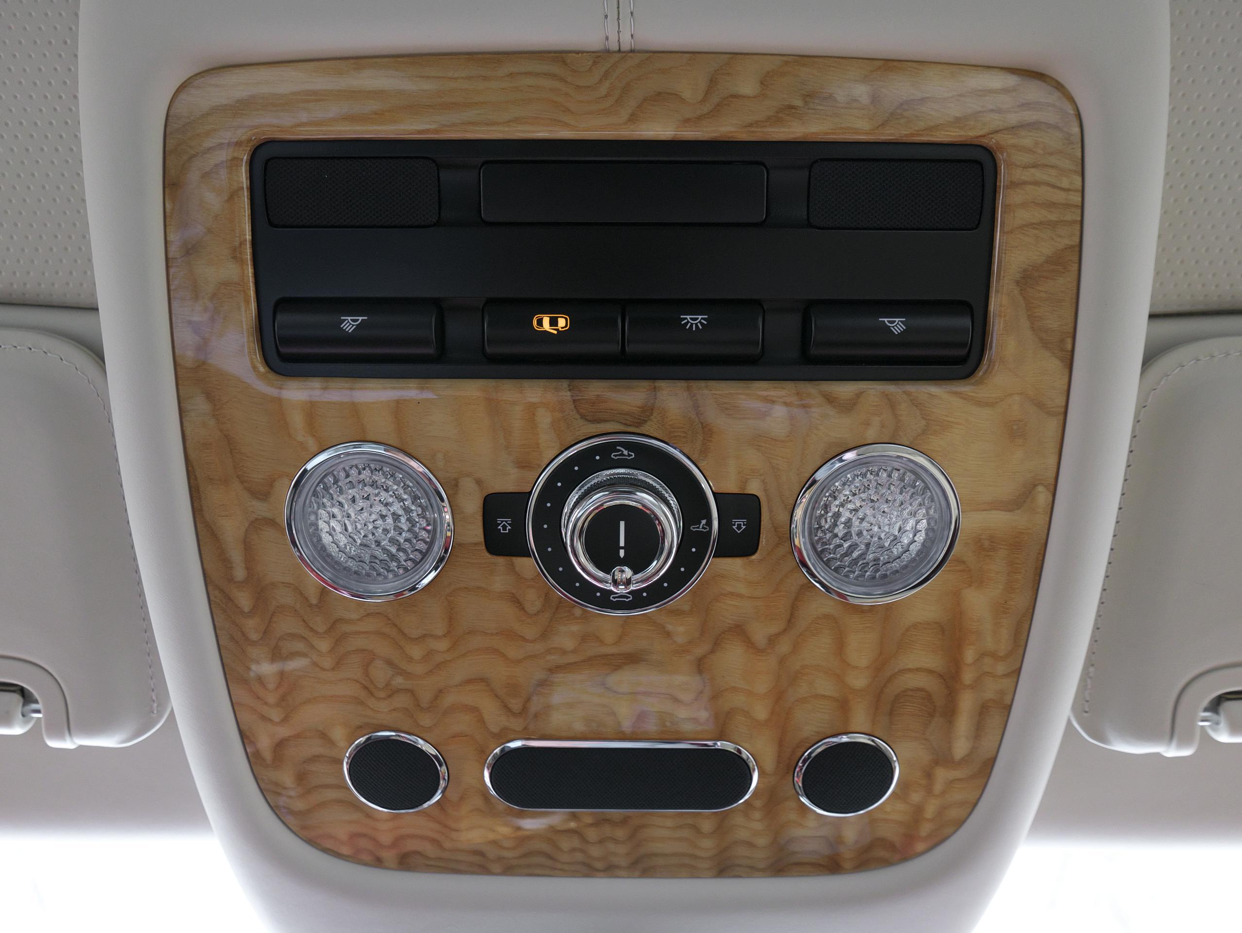 ベントレー フライングスパー W12 オーバーヘッドコンソール