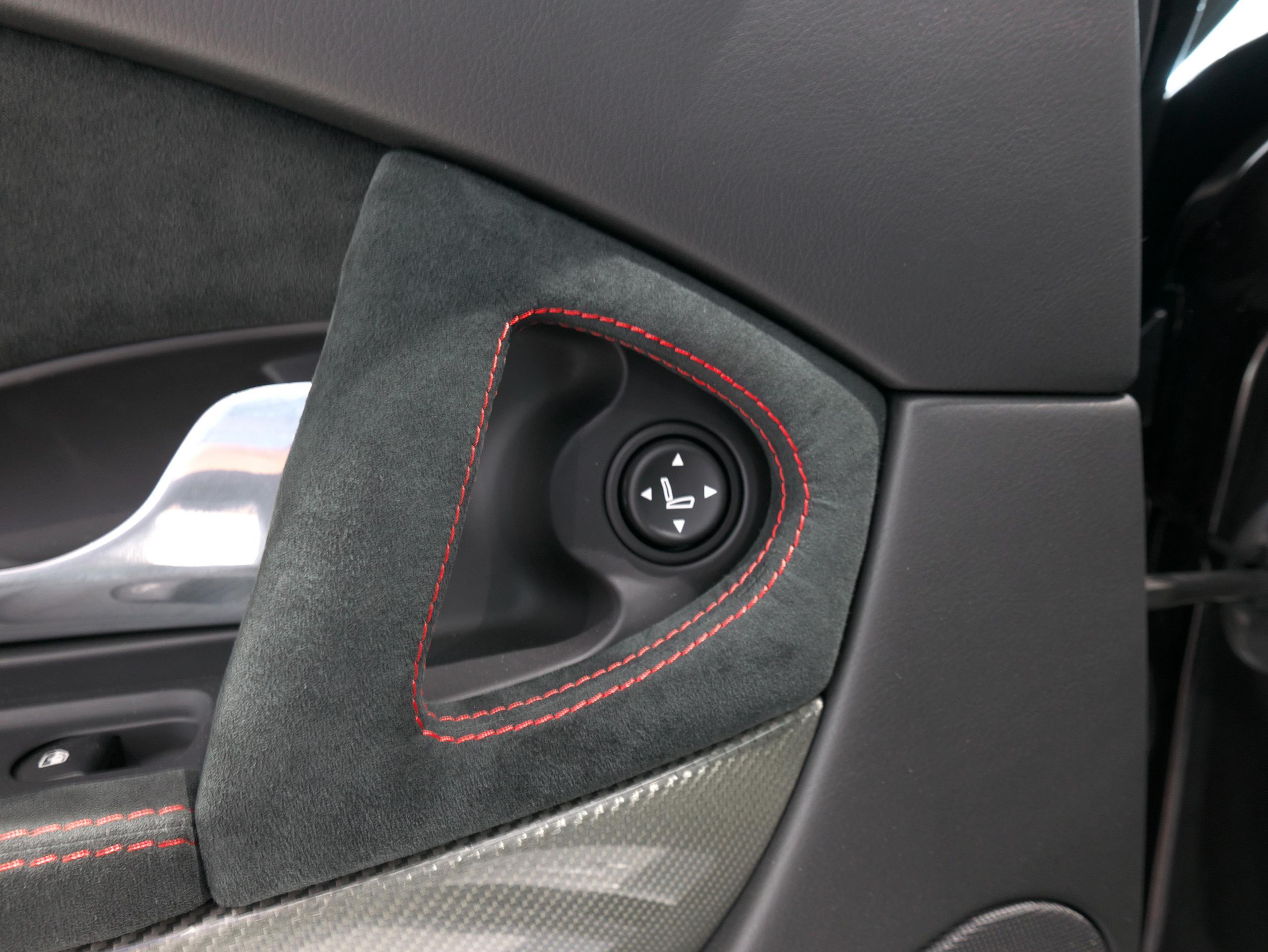クアトロポルテ スポーツ GT S リアシート左側パワーシートスイッチ