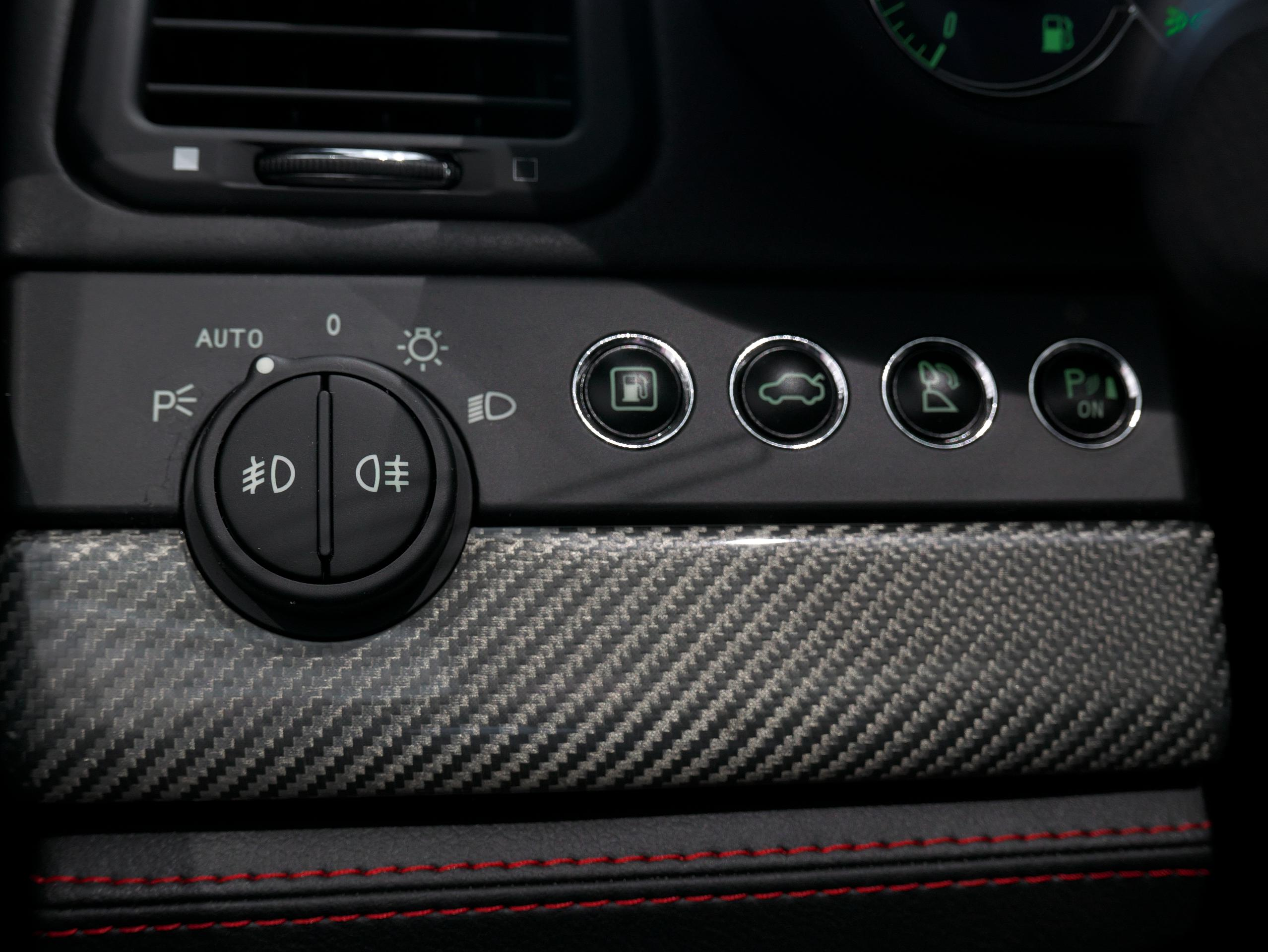クアトロポルテ スポーツ GT S ヘッドライトスイッチ