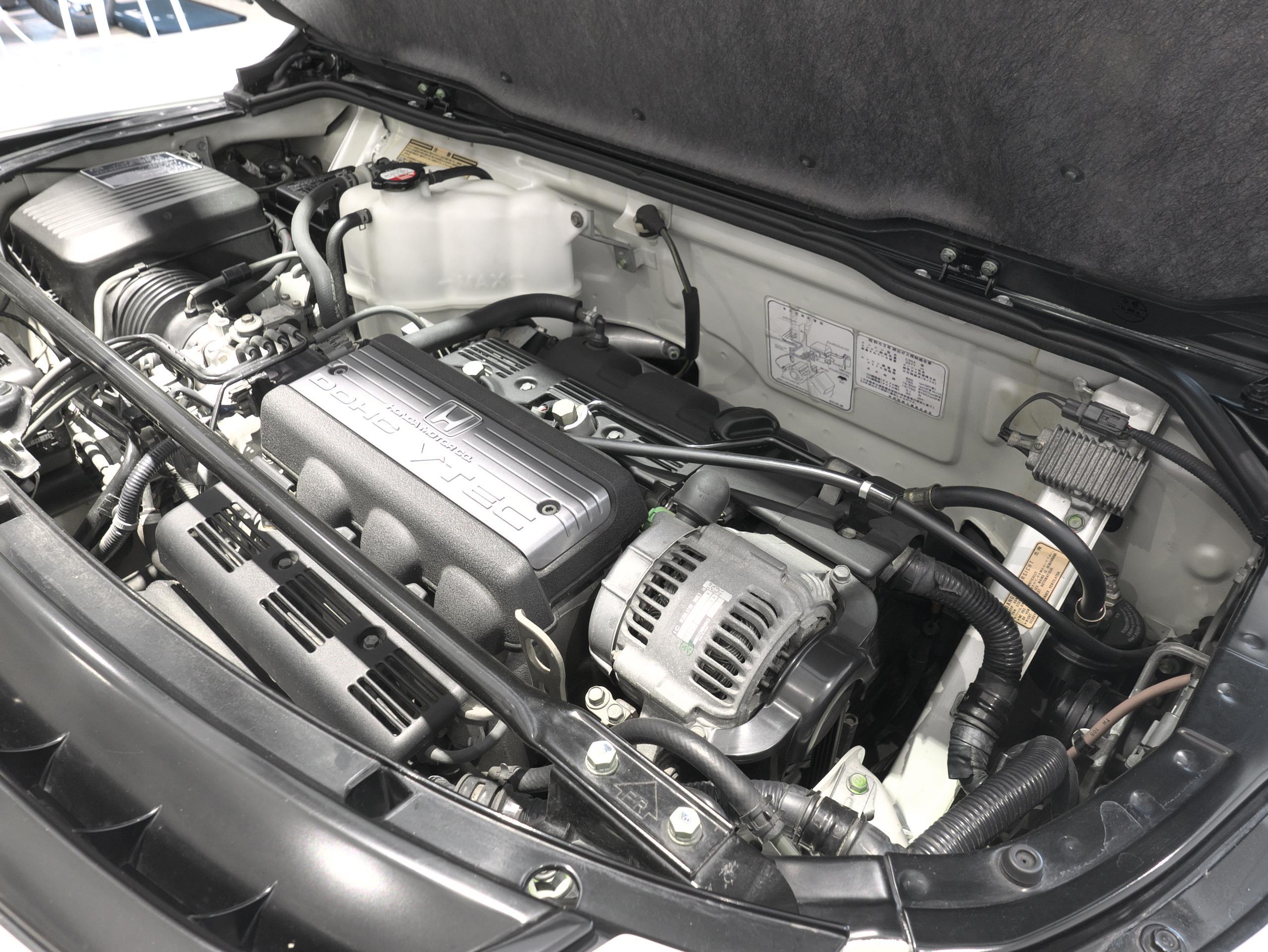 ホンダ NSX E-NA1 エンジンサイド