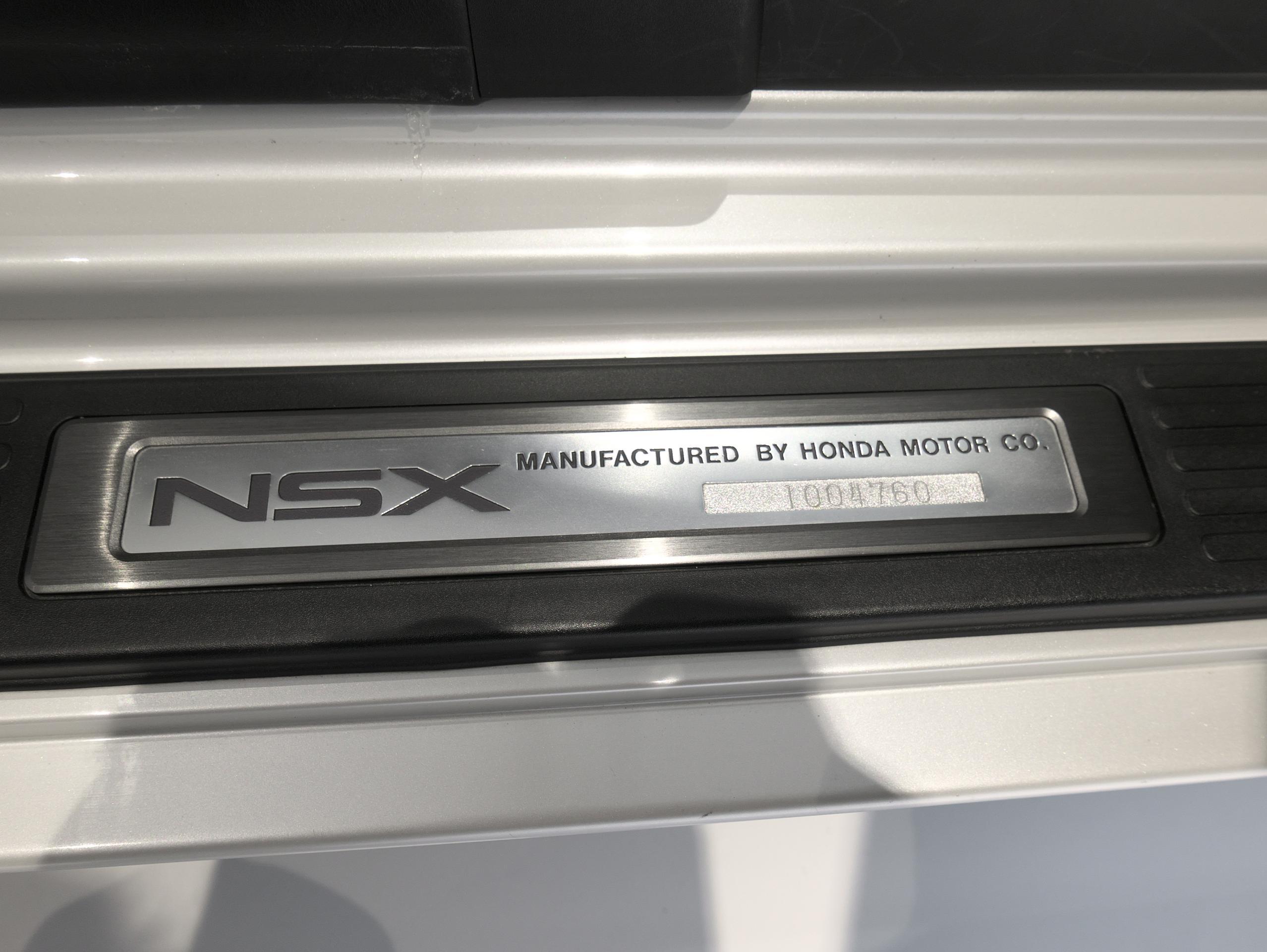 ホンダ NSX E-NA1 スカッフプレート