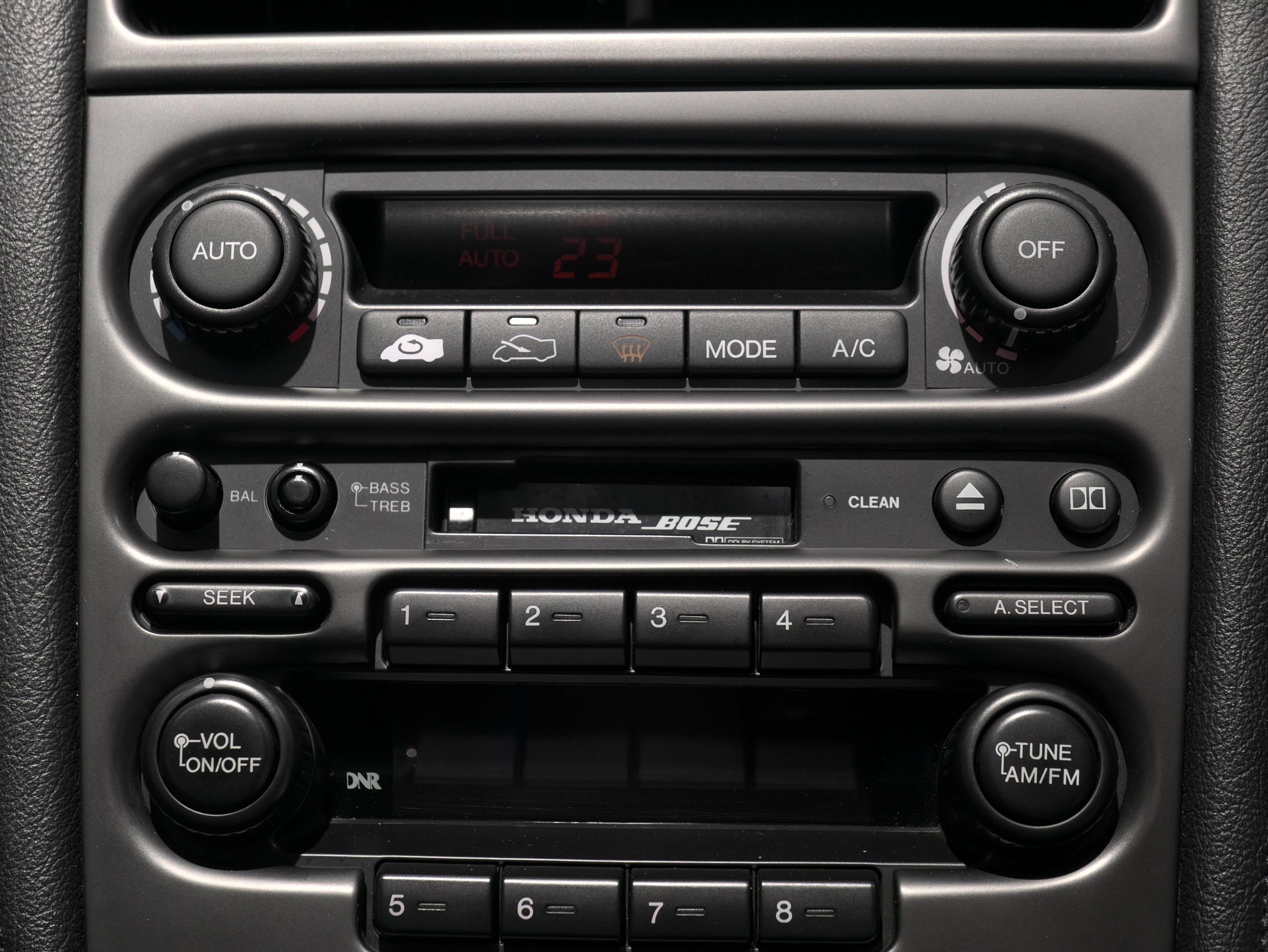 ホンダ NSX E-NA1 オーディオパネル