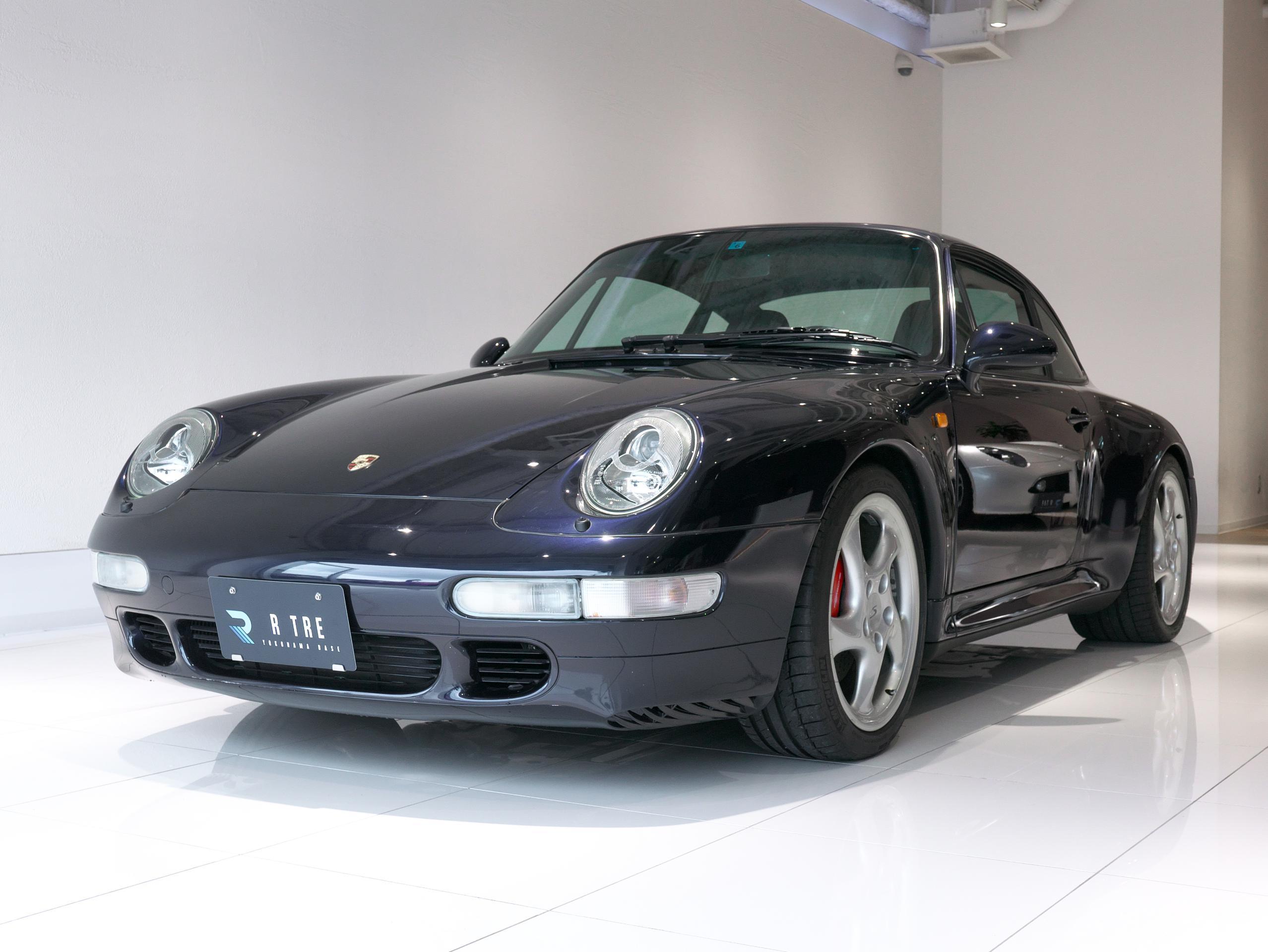 ポルシェ 911 カレラ4S 993 左斜め前