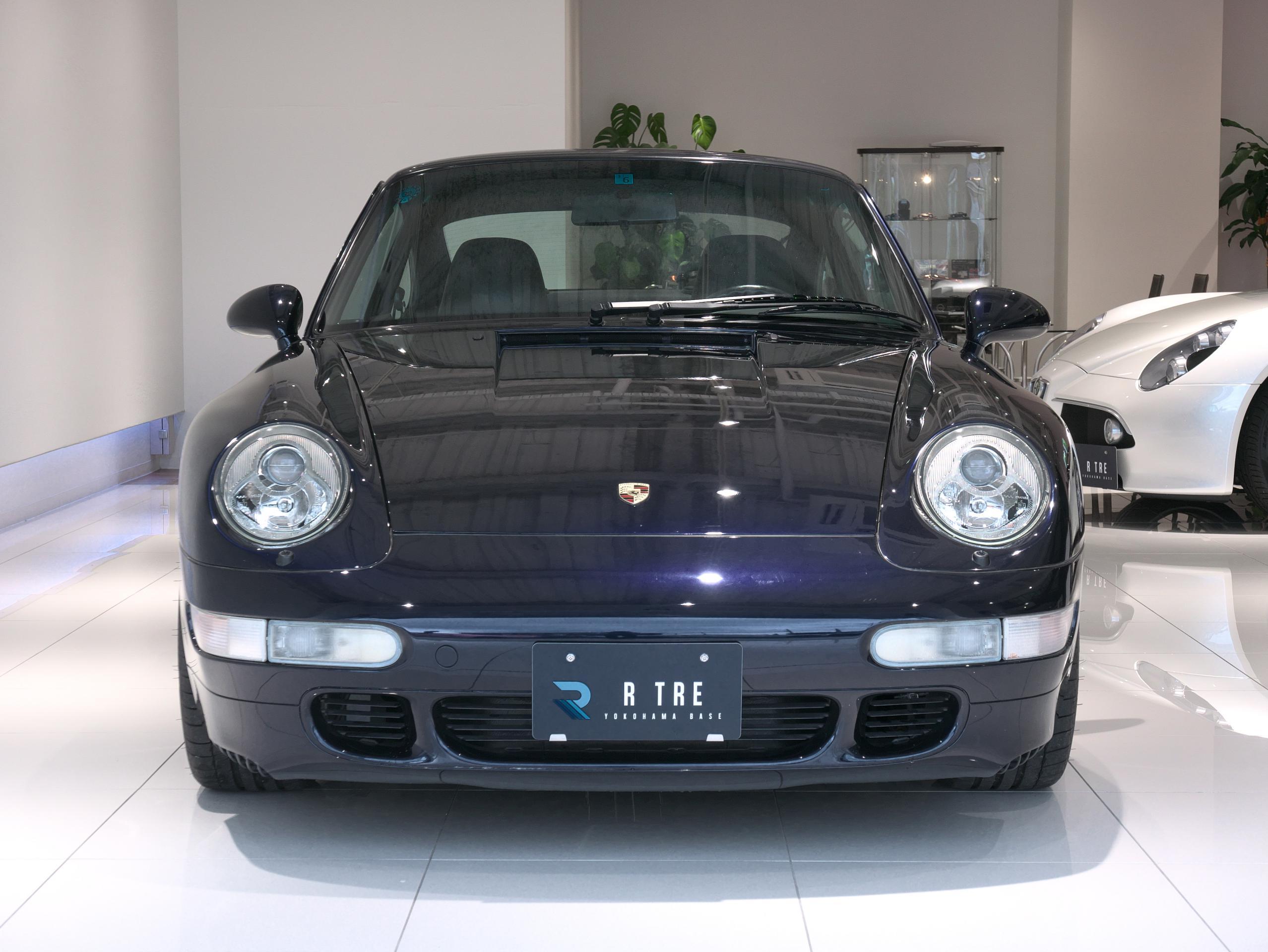 ポルシェ 911 カレラ4S 993 フロント