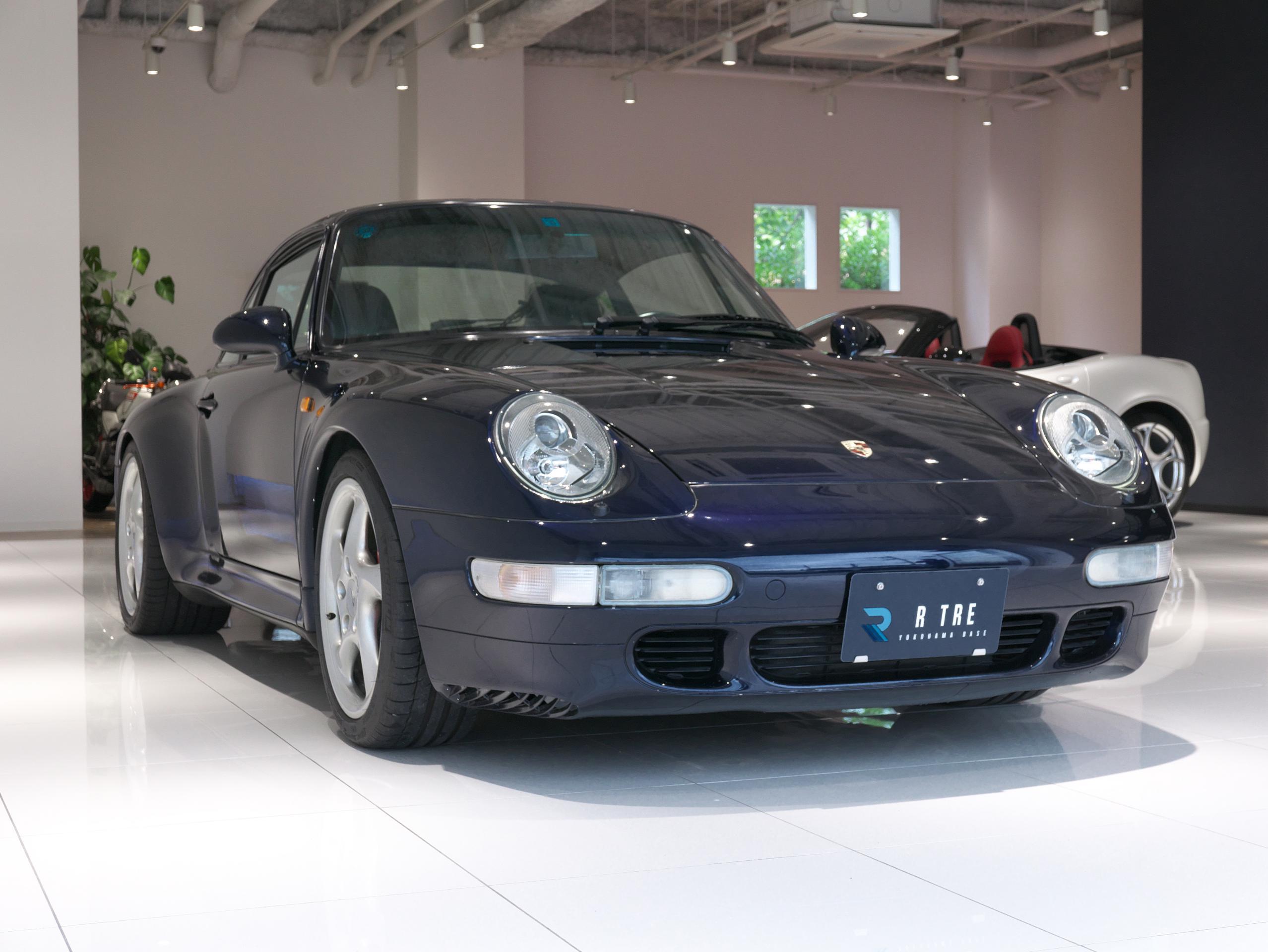 ポルシェ 911 カレラ4S 993 右フロント