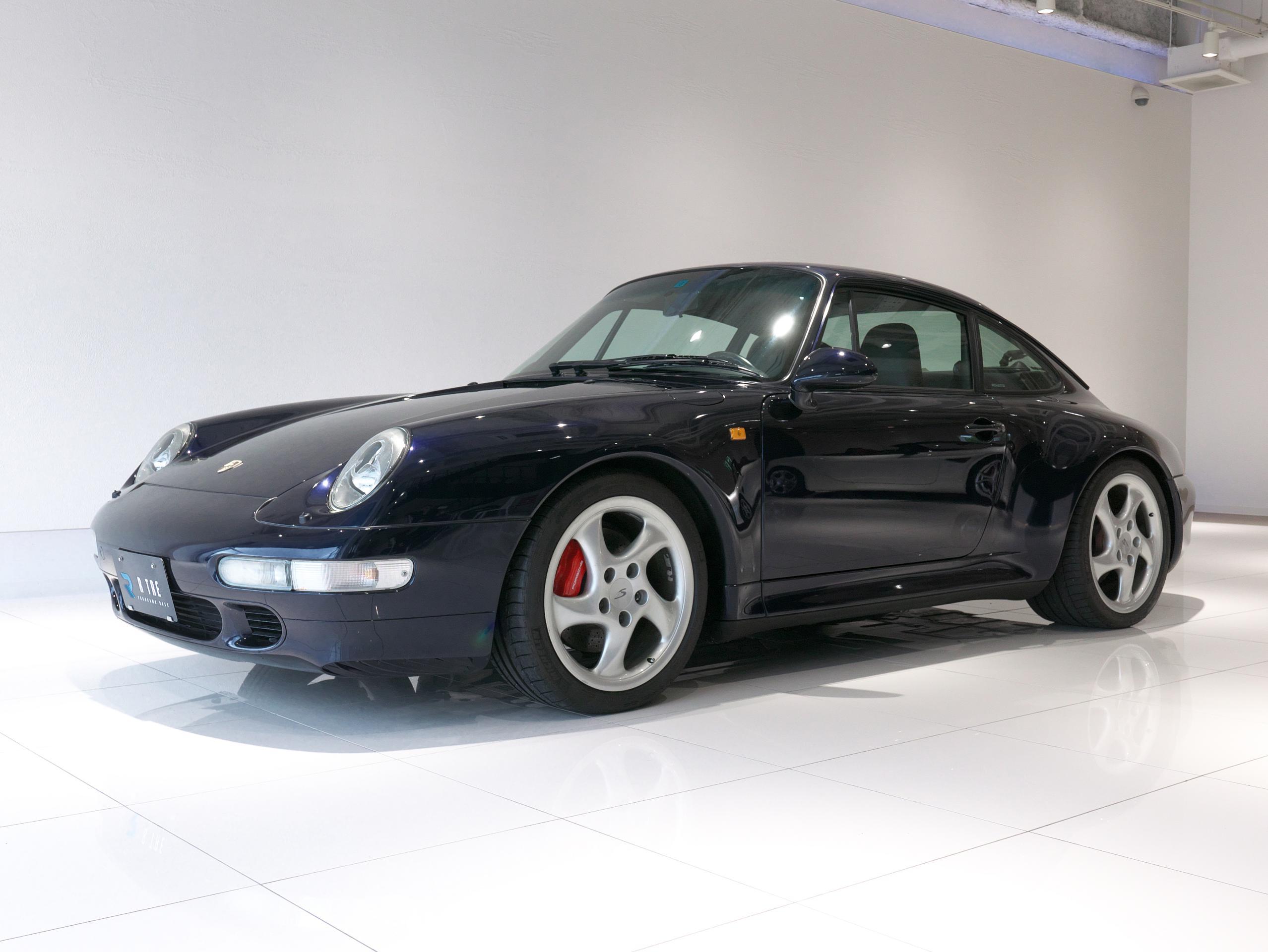 ポルシェ 911 カレラ4S 993 左フロント