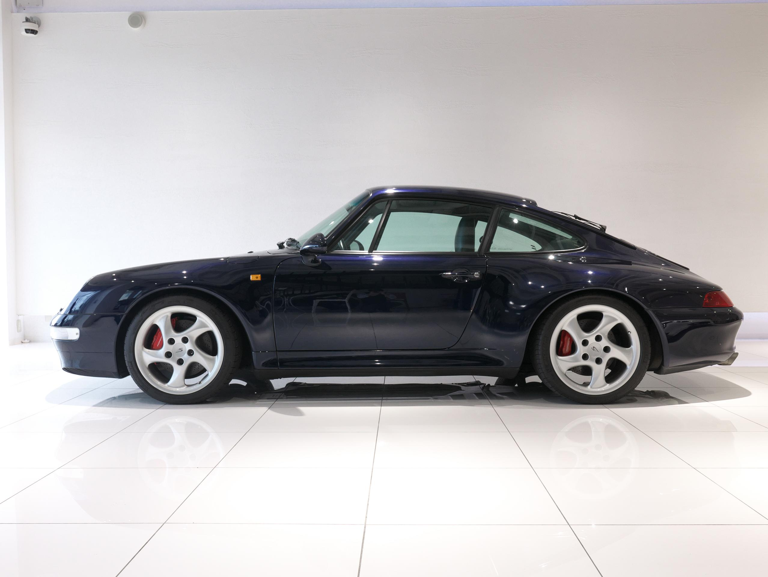 ポルシェ 911 カレラ4S 993 左サイド