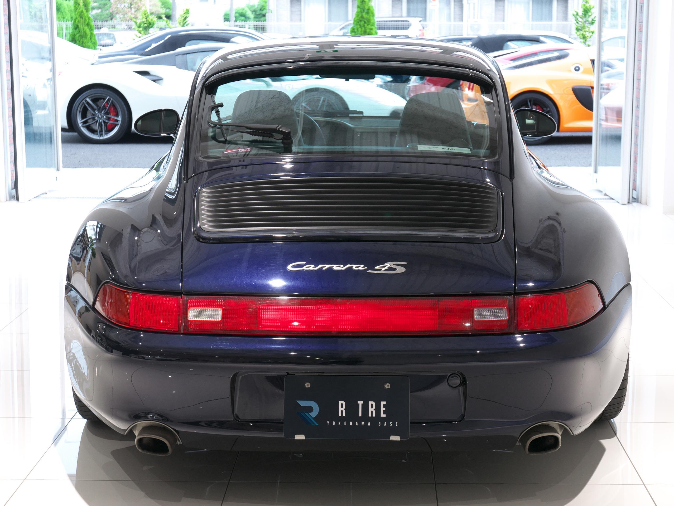 ポルシェ 911 カレラ4S 993 リアビュー