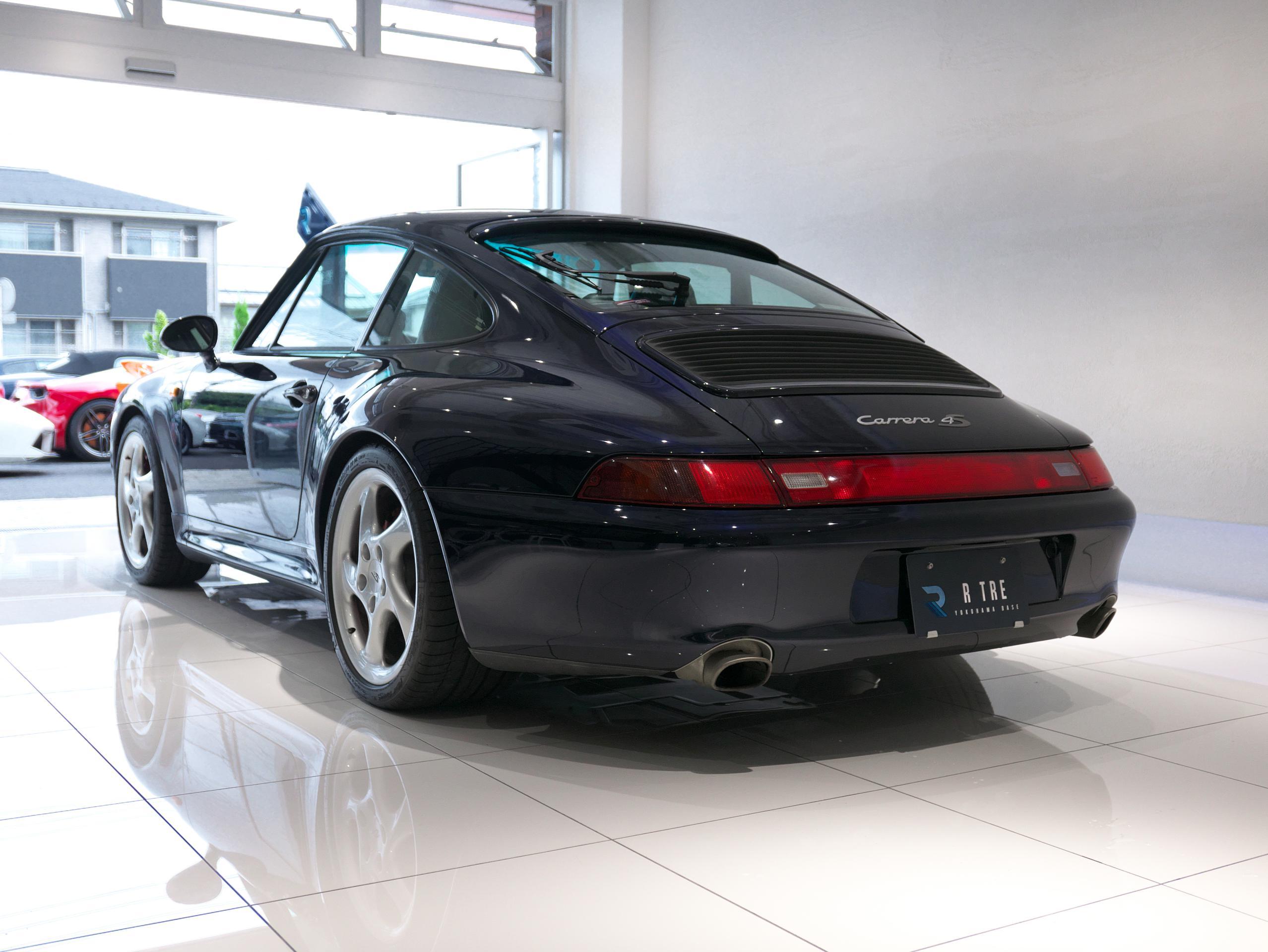 ポルシェ 911 カレラ4S 993 左斜め後